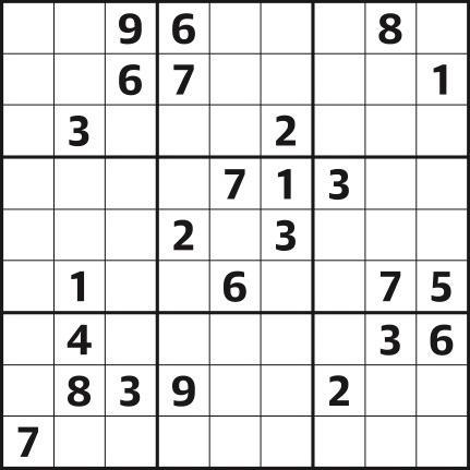 Sudoku 4,297 hard