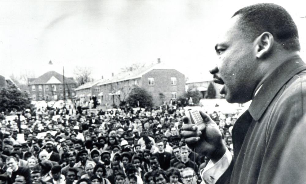 Martin Luther King in 1965.