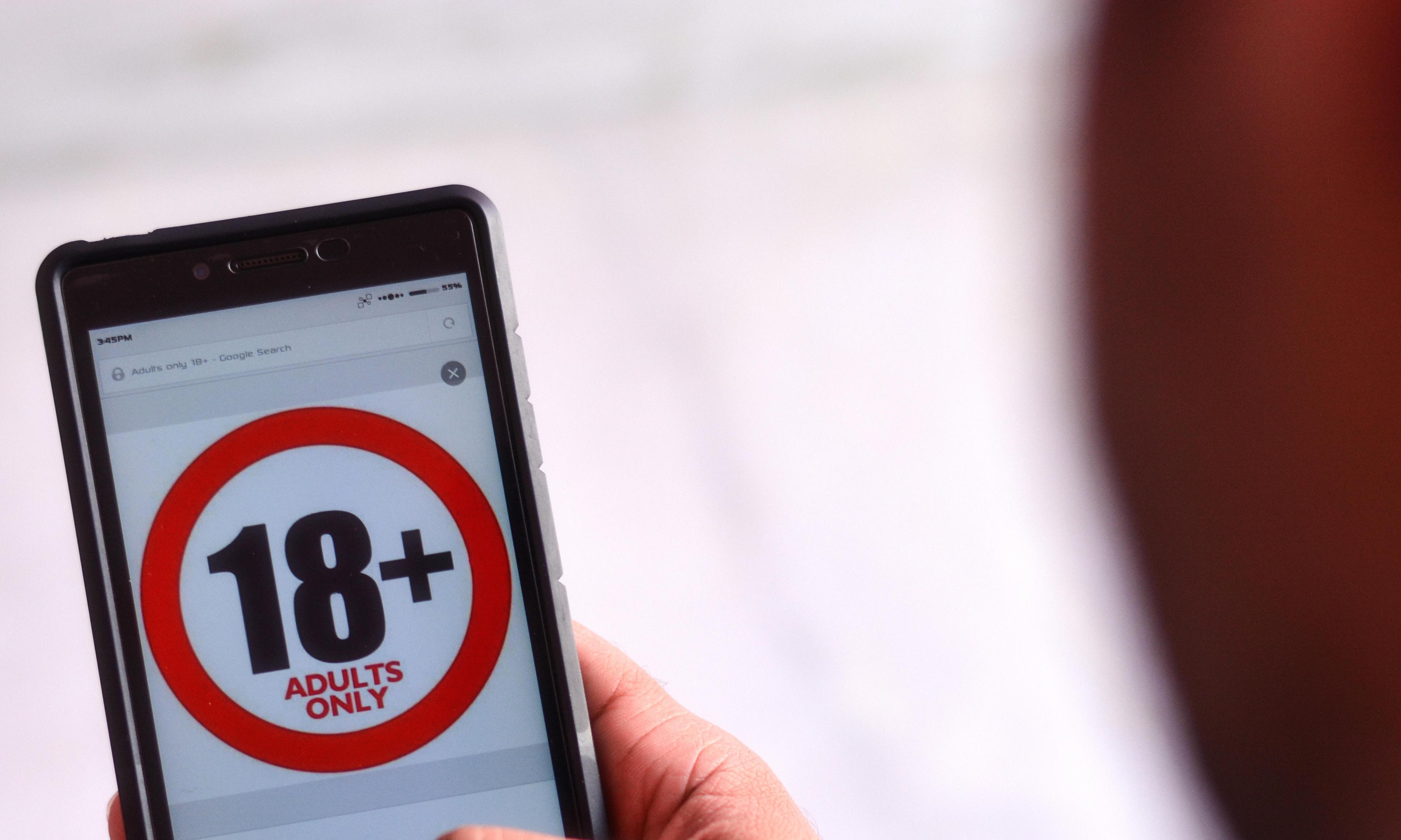 UK's porn age-verification system faces indefinite delay