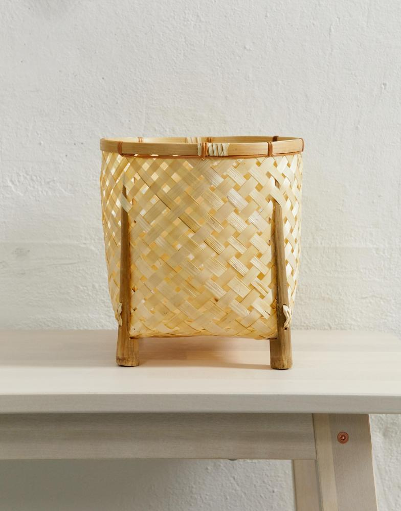 Bamboo plant stand, £14, Asos Supply
