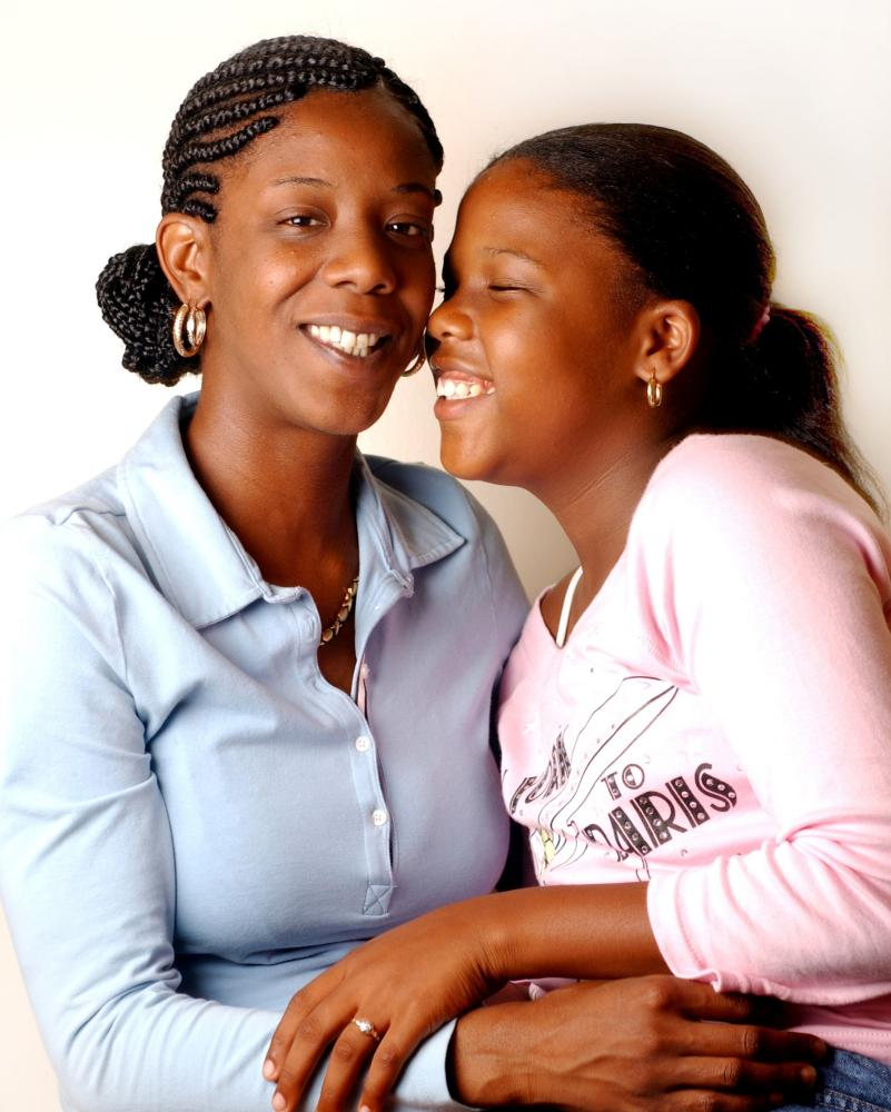 Marcy Borders and her daughter Noelle. Marcy was working on the 81st floor of the north tower when the planes struck.