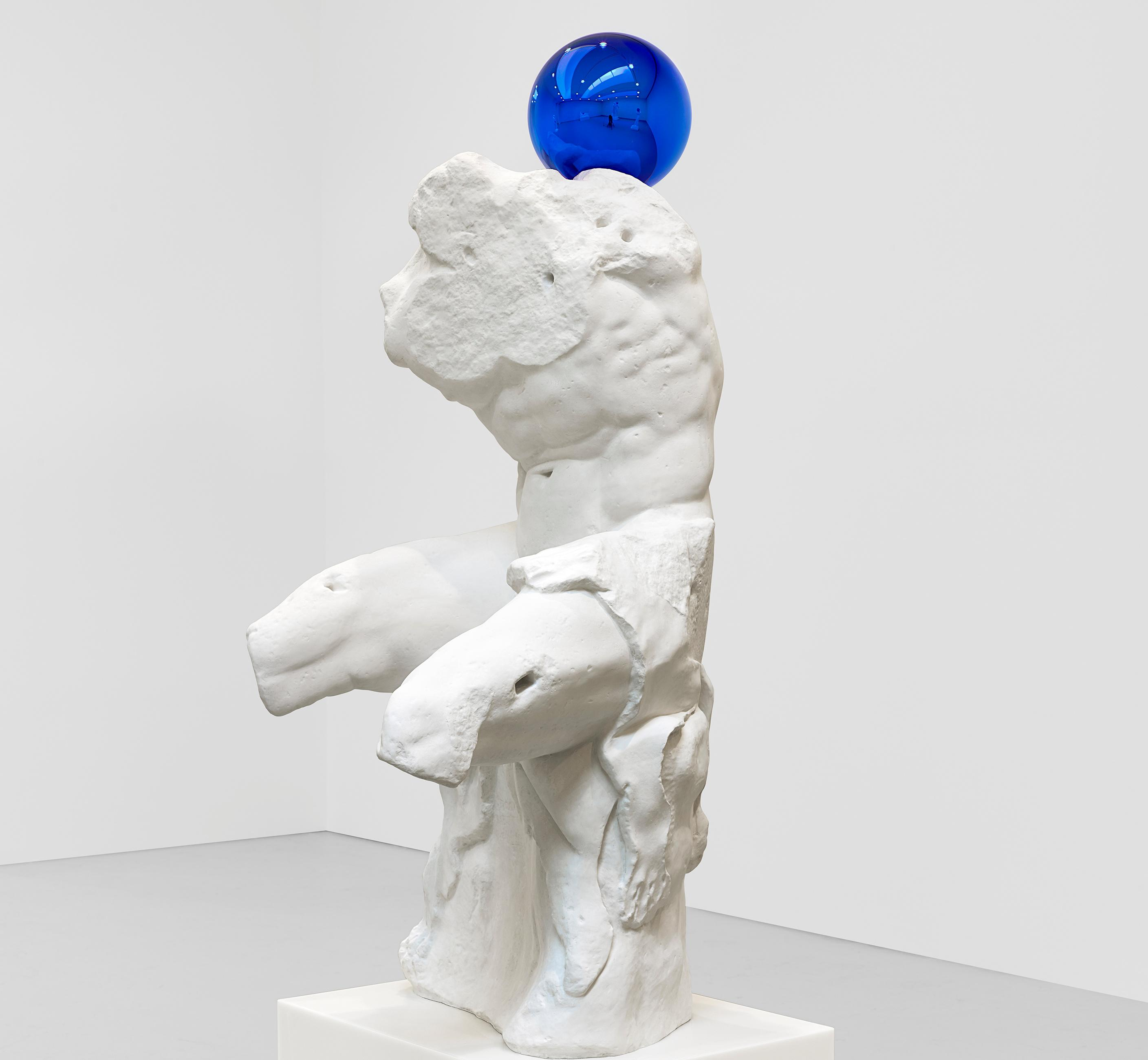 Koons apes the old masters and robots invade Edinburgh – the week in art
