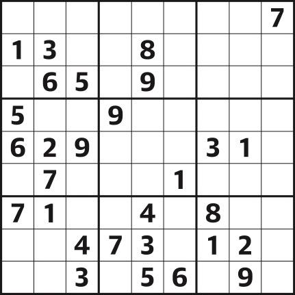 Sudoku 4,430 easy