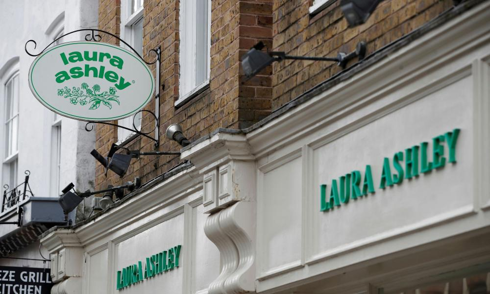 Laura Ashley filed for administration last month while the number of coronavirus cases grew around the world.