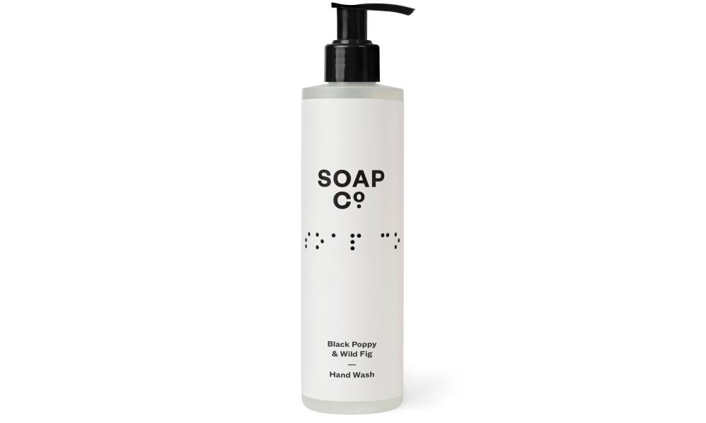 Soap Co black poppy and wild fig hand wash