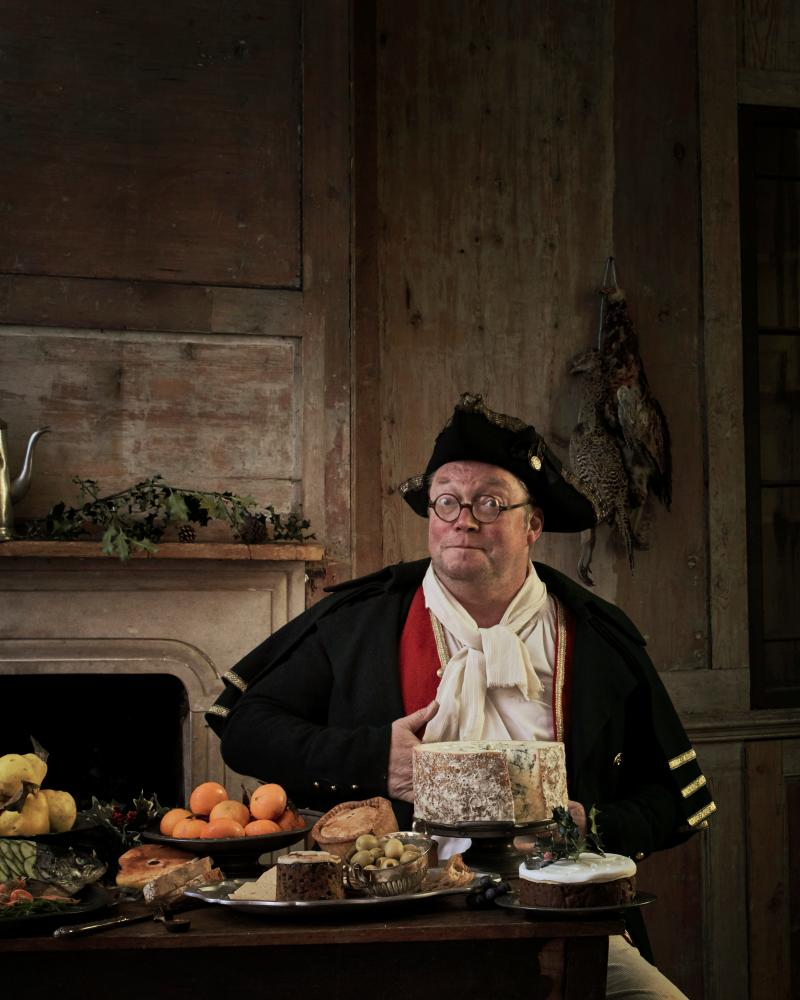 Fergus Henderson as Mr. Bumble.