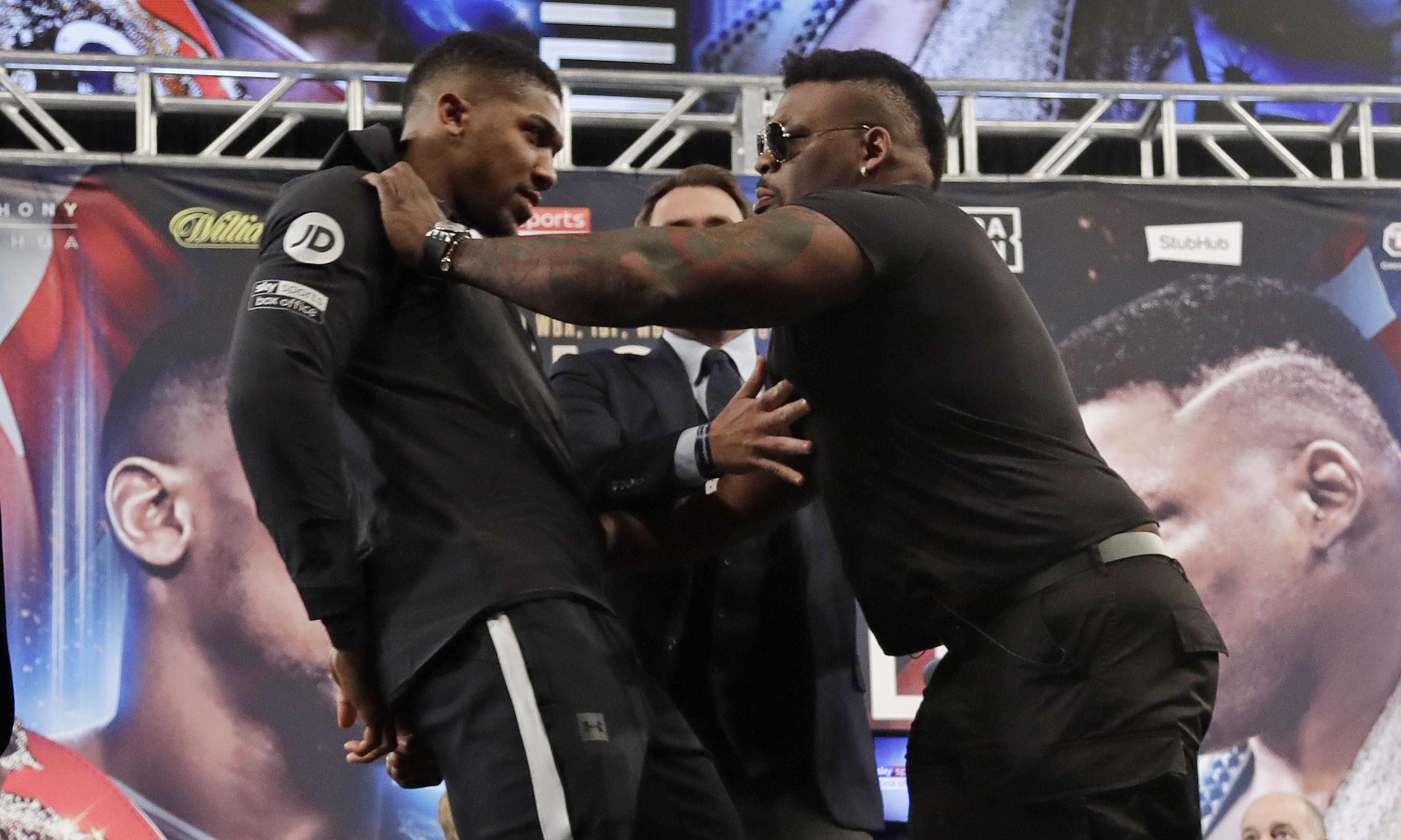 Anthony Joshua brushes off Jarrell Miller testosterone claims before fight