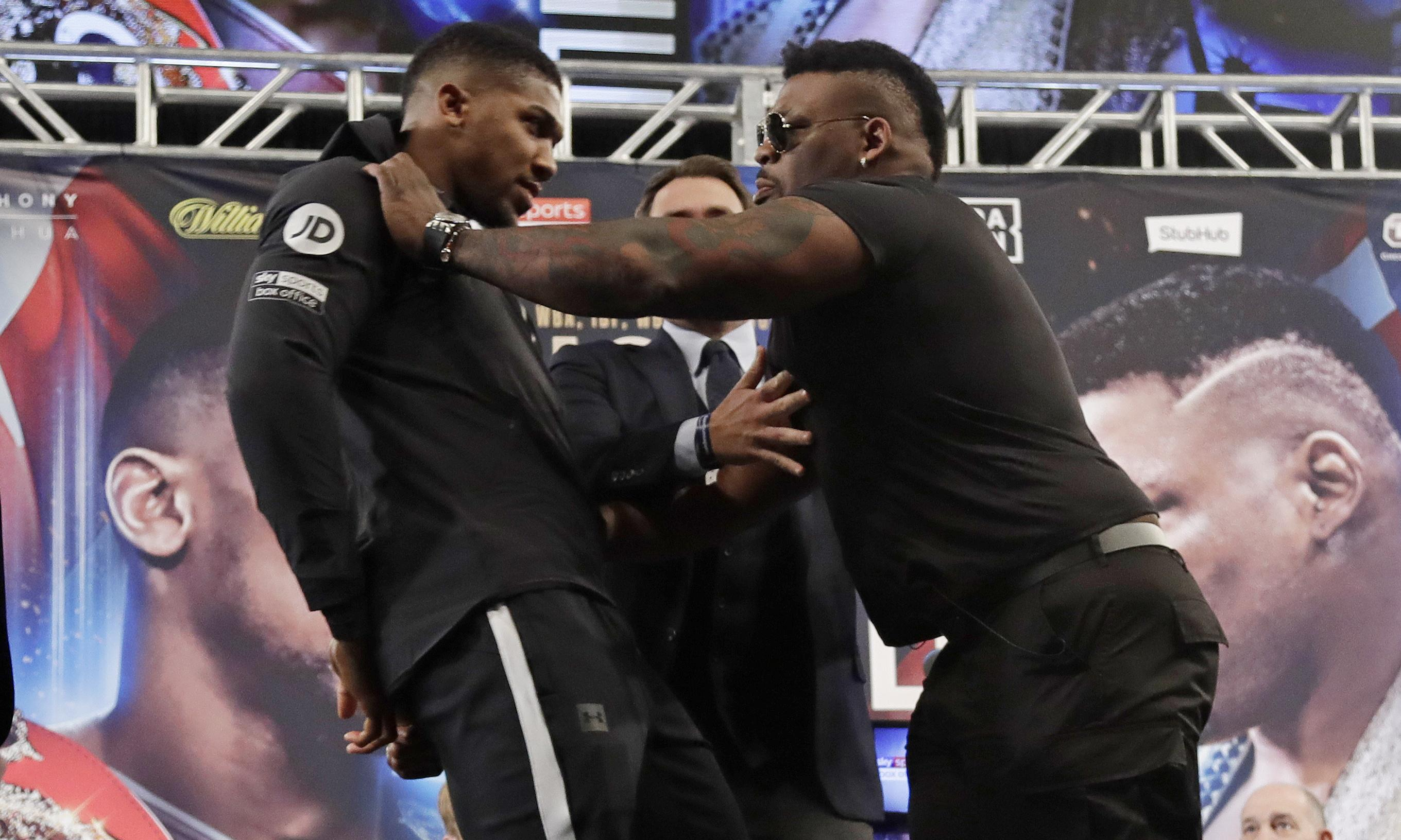 Jarrell Miller can't beat me even on his best day, says Anthony Joshua