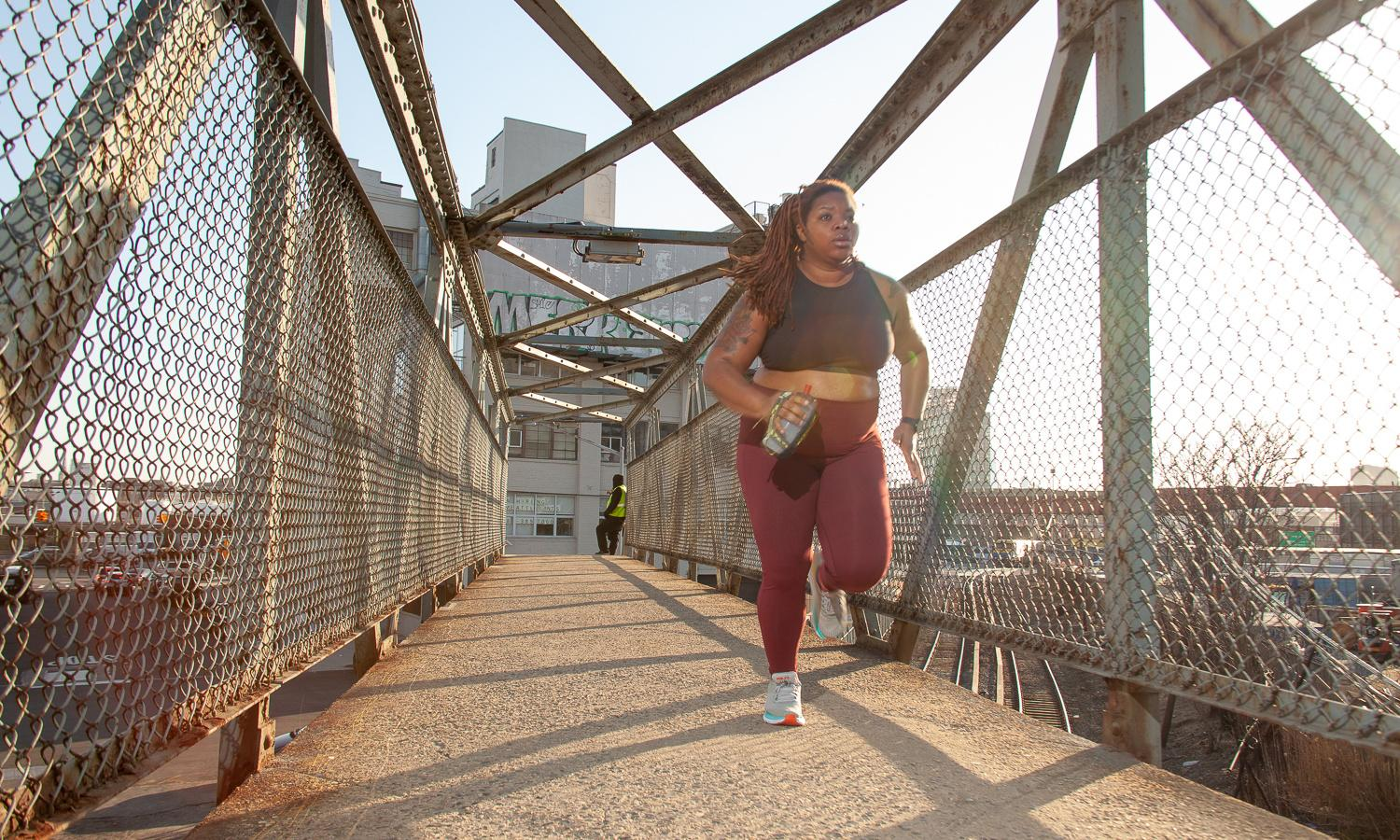 Insults, projectiles, well-intentioned fat-shaming: the perils of being a plus-size runner