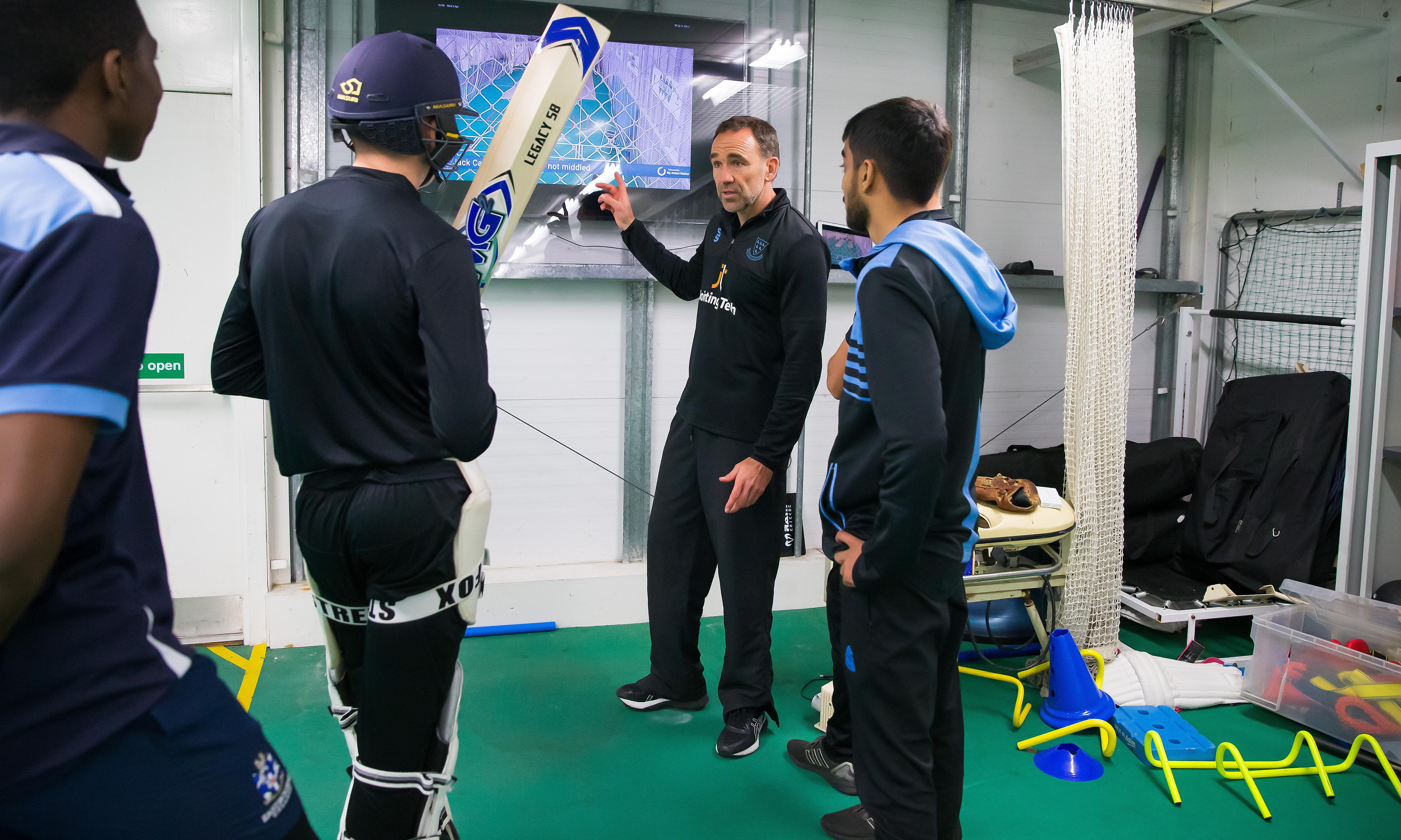 A cricket coaching revolution is under way in Sussex – just press play