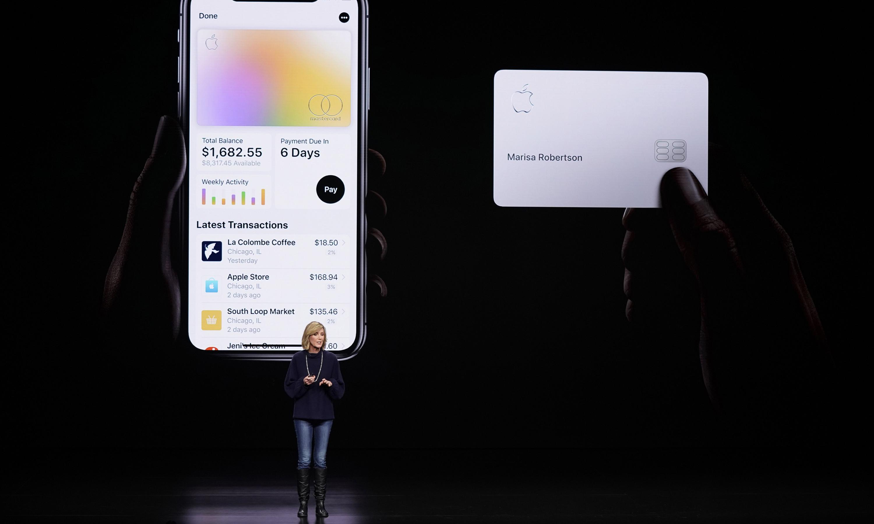 Apple warns new credit card users over risks of it touching wallets and pockets