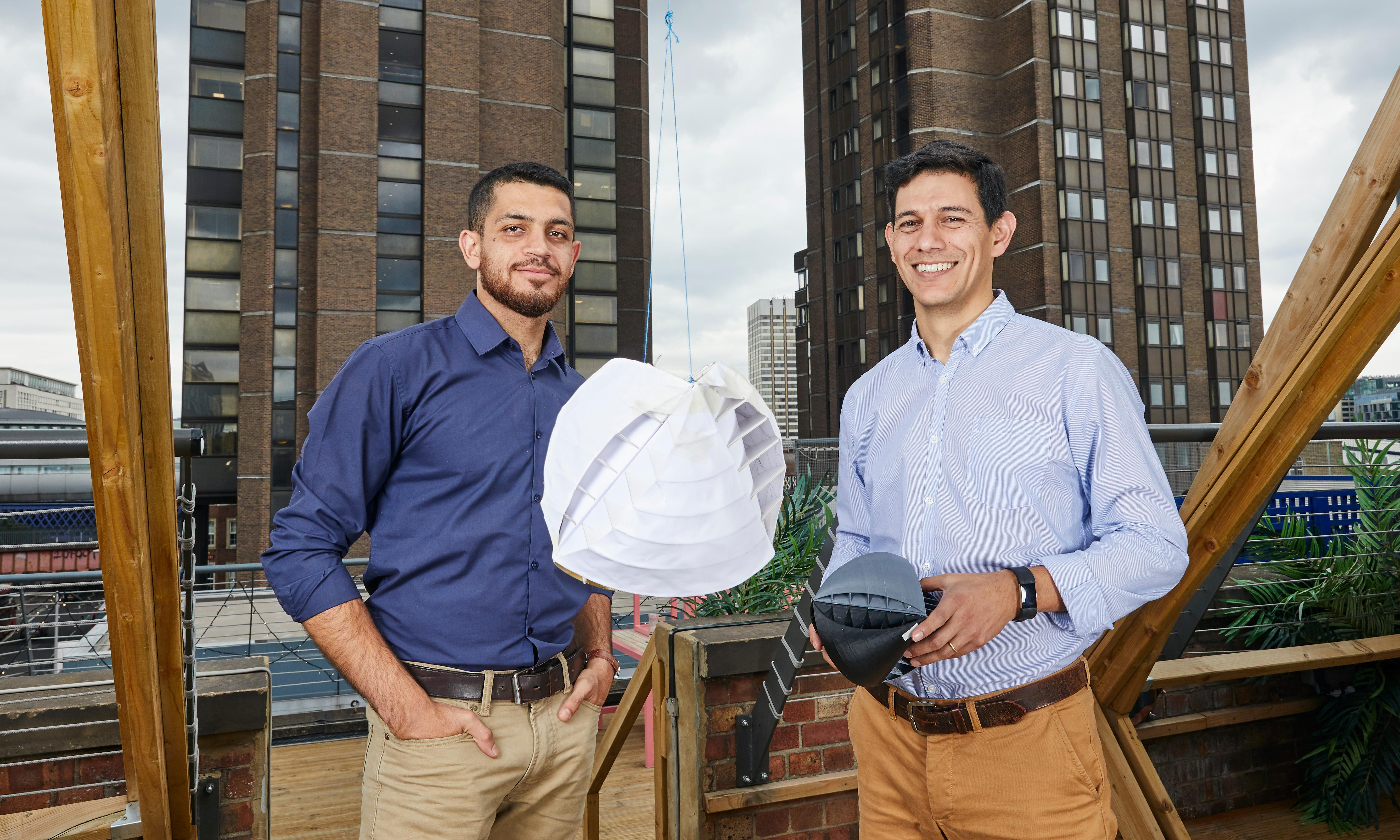 Inventors of spinning wind turbine win James Dyson award