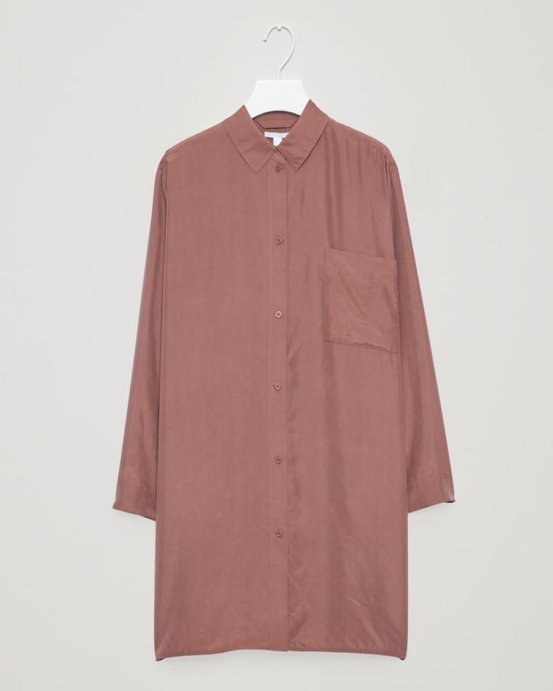 Shirt dress, £99, cosstores.com