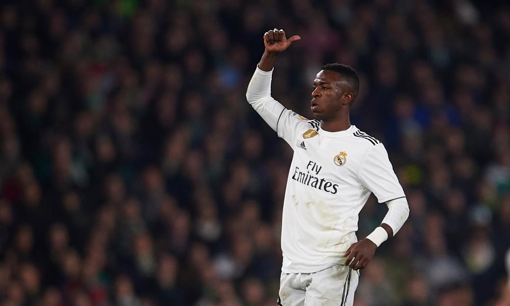 Vinicius Jr is impressing at Real Madrid.
