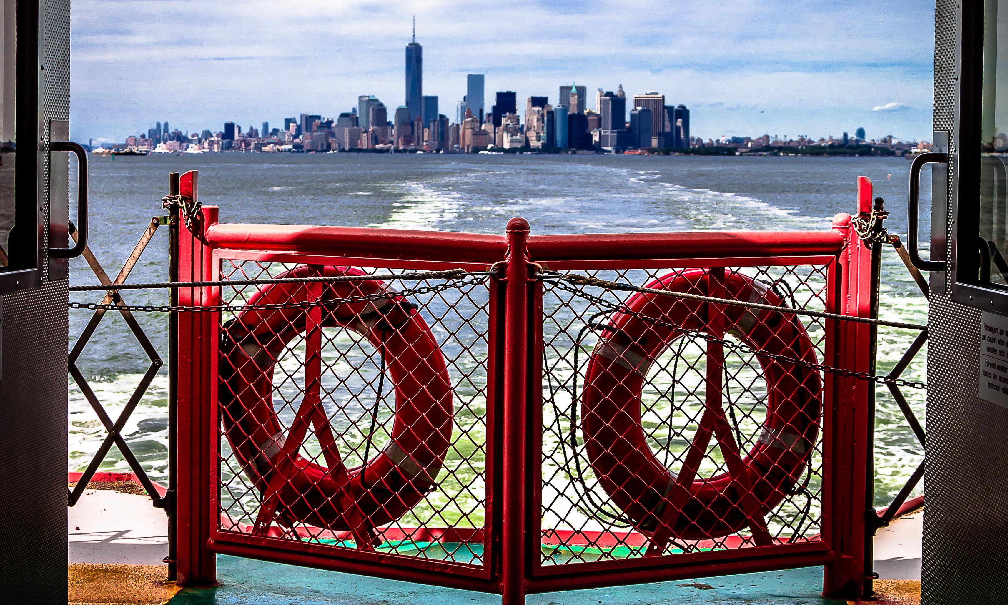 Manhattan transfers: New York's boroughs by ferry