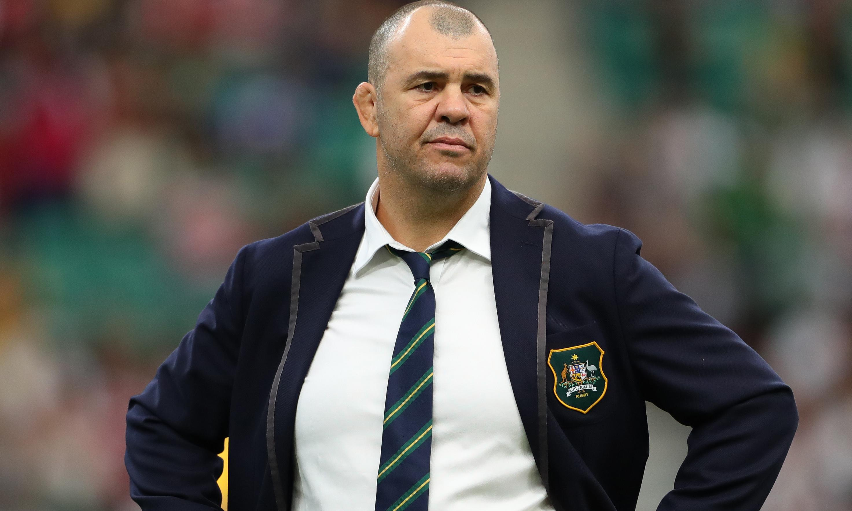 Michael Cheika lifts lid on Rugby Australia after quitting as head coach