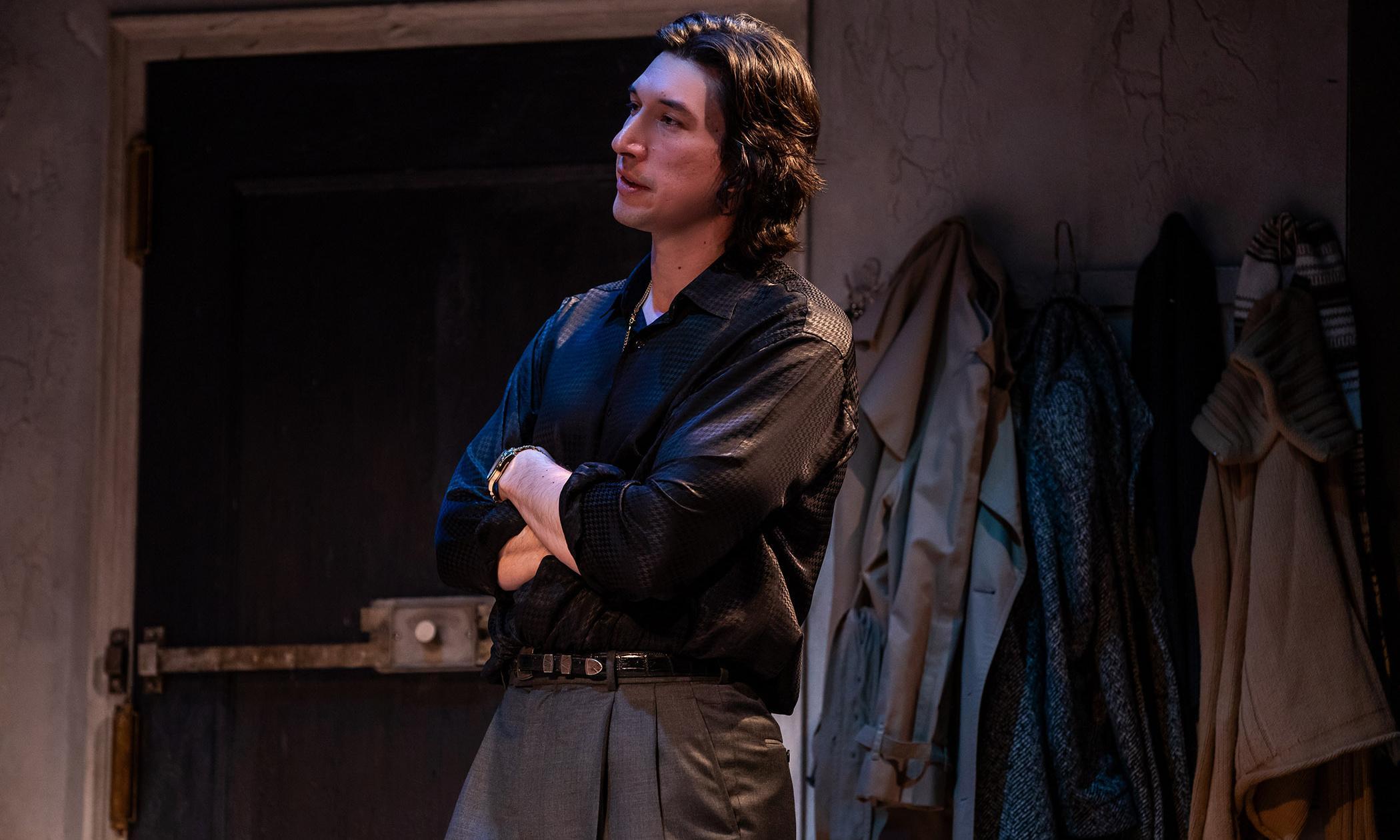 Burn This review – Adam Driver ignites patchy Broadway revival