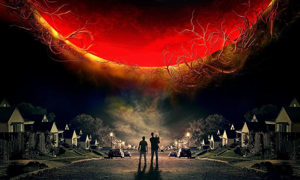 An image from Steven Spielberg's 2005 film version of War of the Worlds