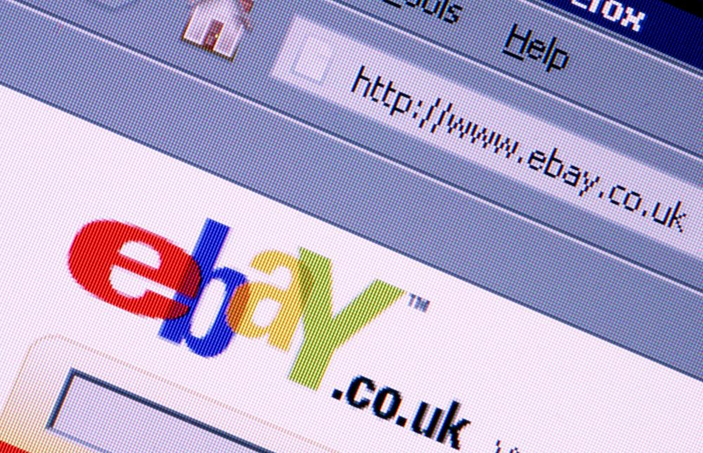 The eBay website