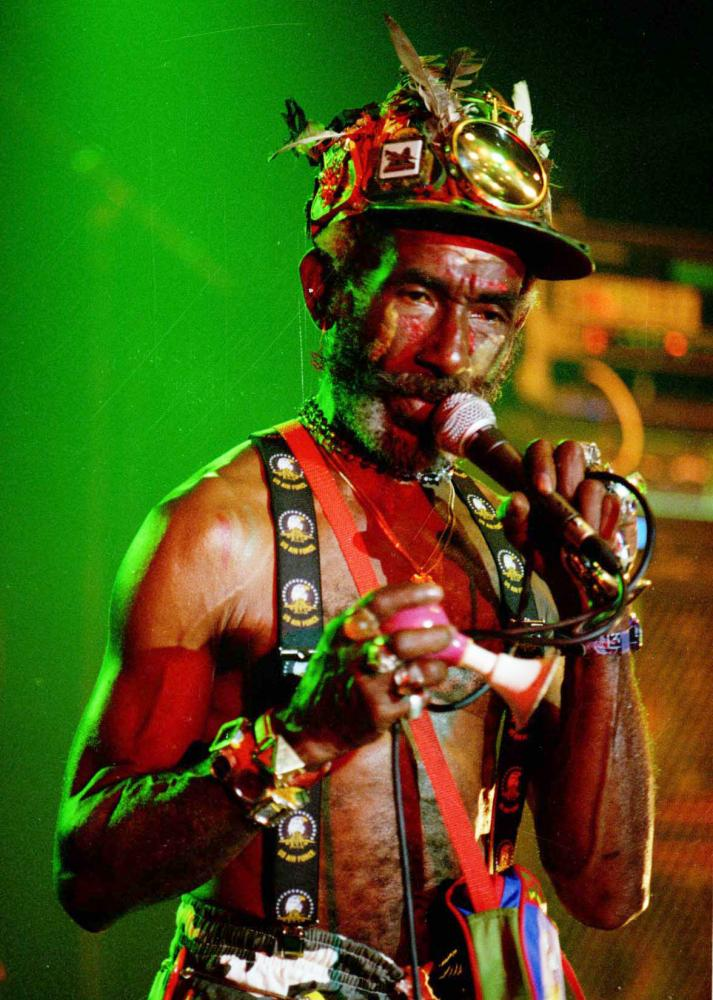 """Lee """"Scratch"""" Perry in 1997."""