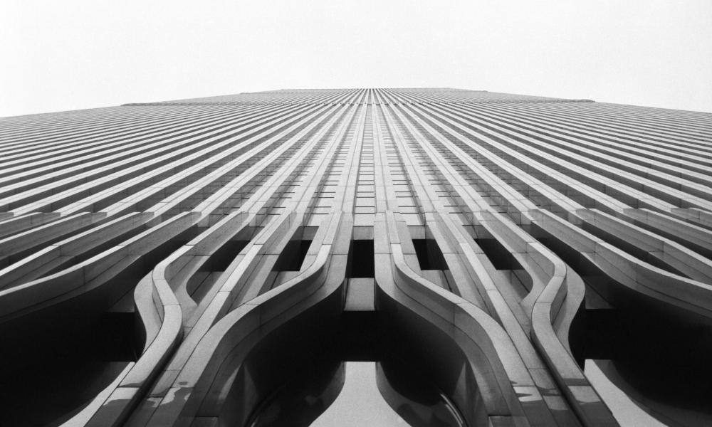 The World Trade Center in 1982: 'its most disliked features came more from the arrogance of his clients than from [architect] Minoru Yamasaki'