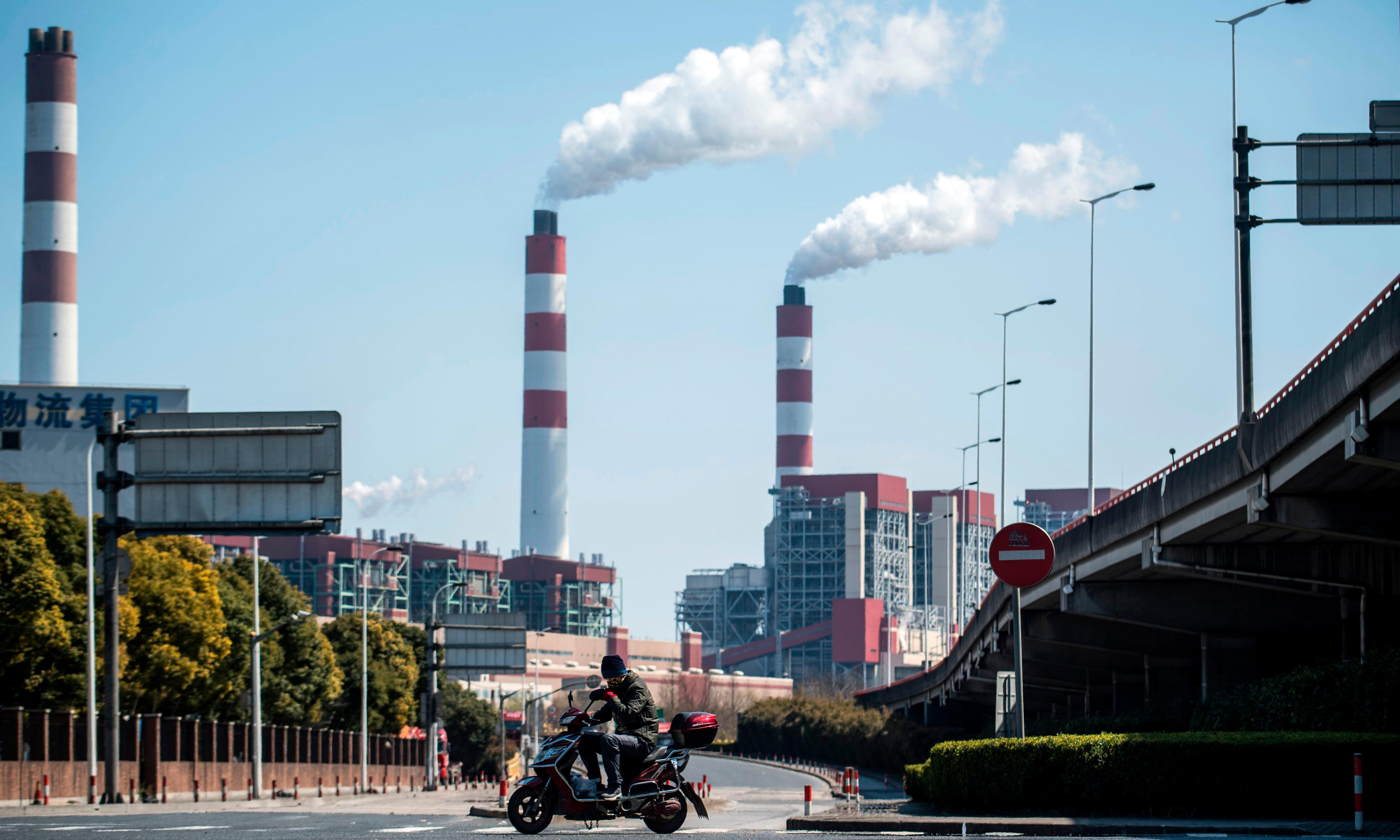 China's appetite for coal power returns despite climate pledge