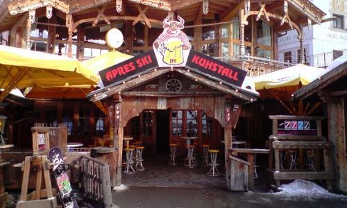 Après ski hangout Kuhstall
