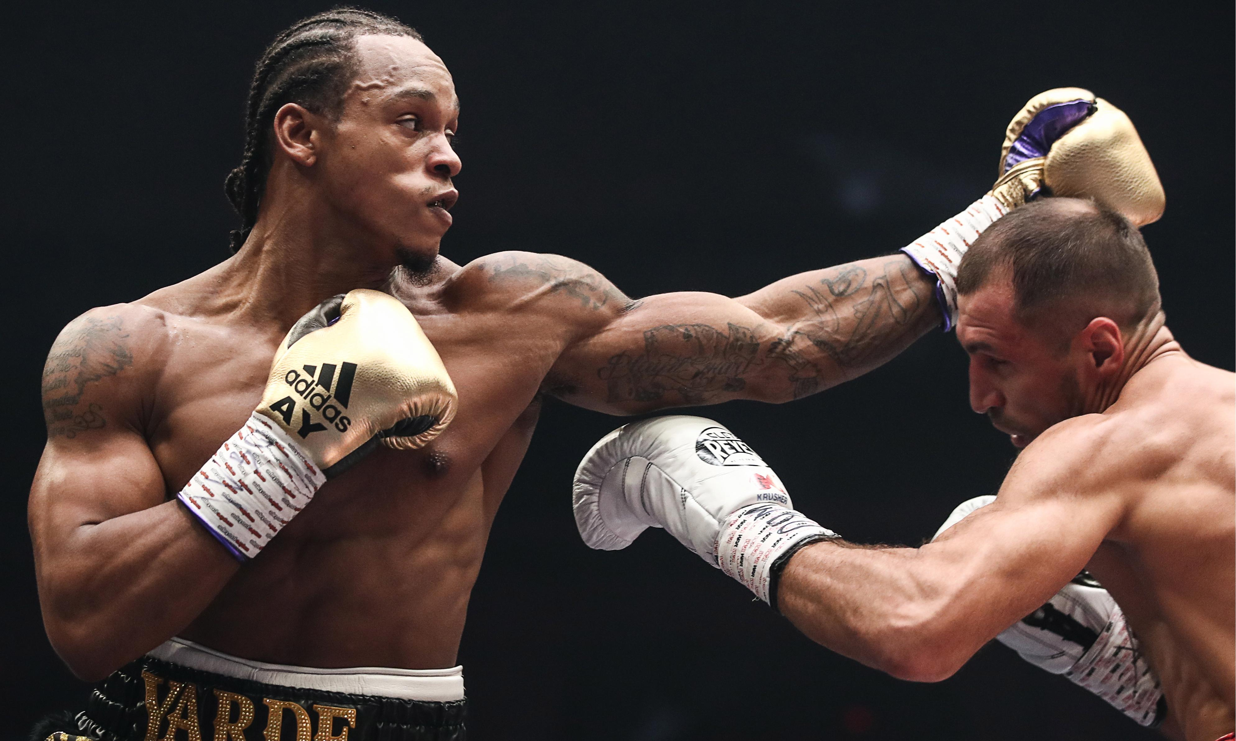 Anthony Yarde brave but beaten in WBO title fight against Sergey Kovalev