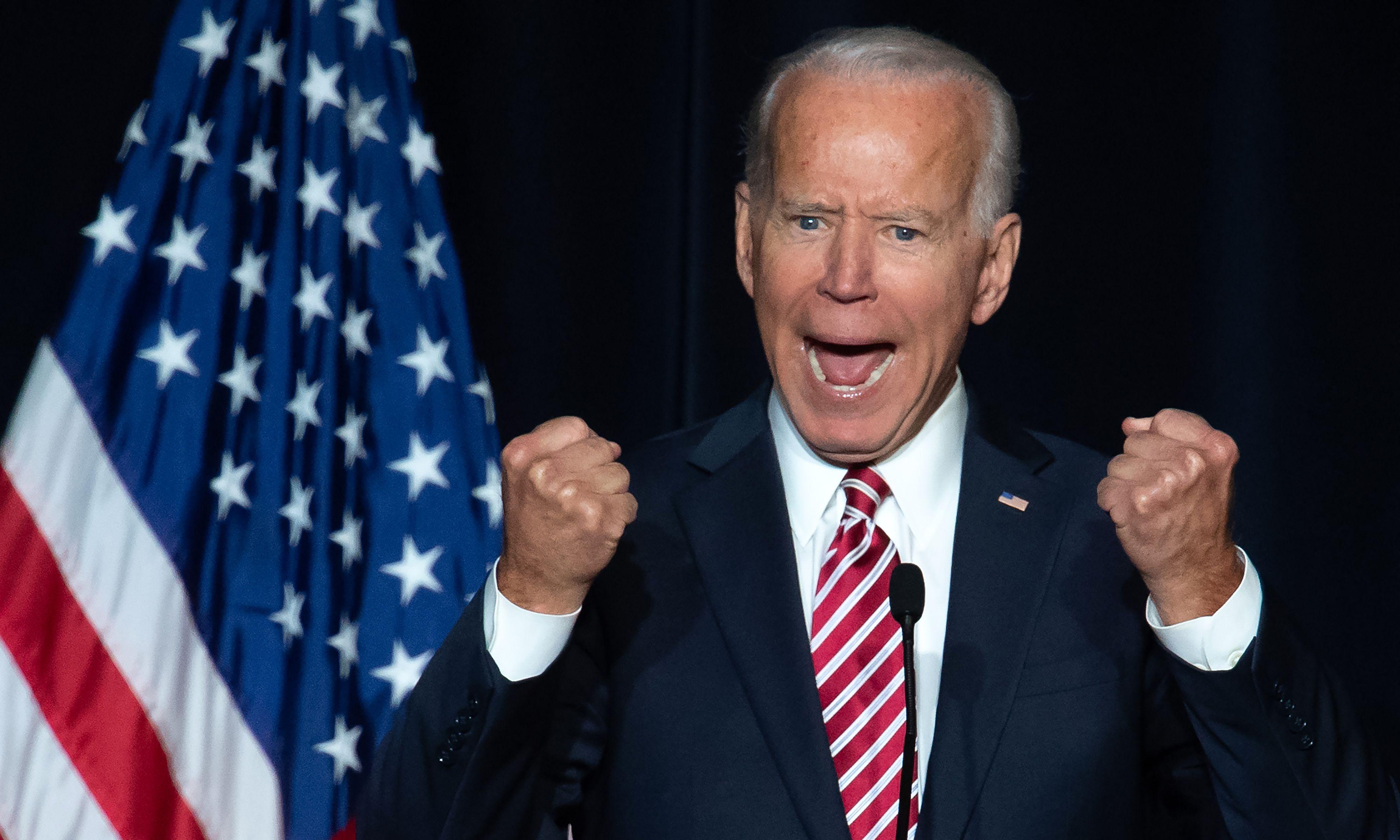 Joe Biden raises $6.3m in a day, surpassing Democratic 2020 rivals