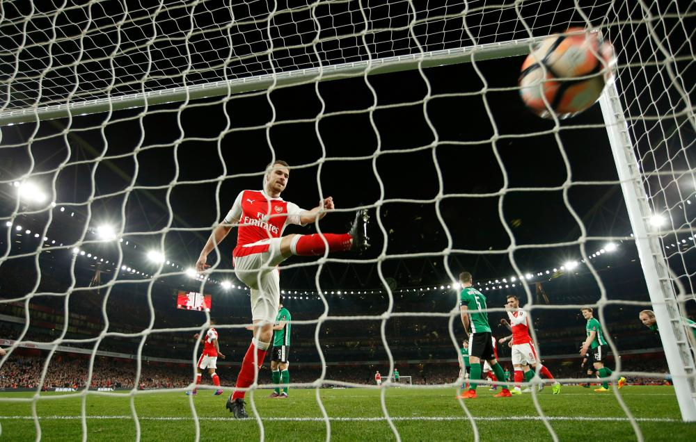 Aaron Ramsey and Arsenal face a tougher test this weekend at West Brom.
