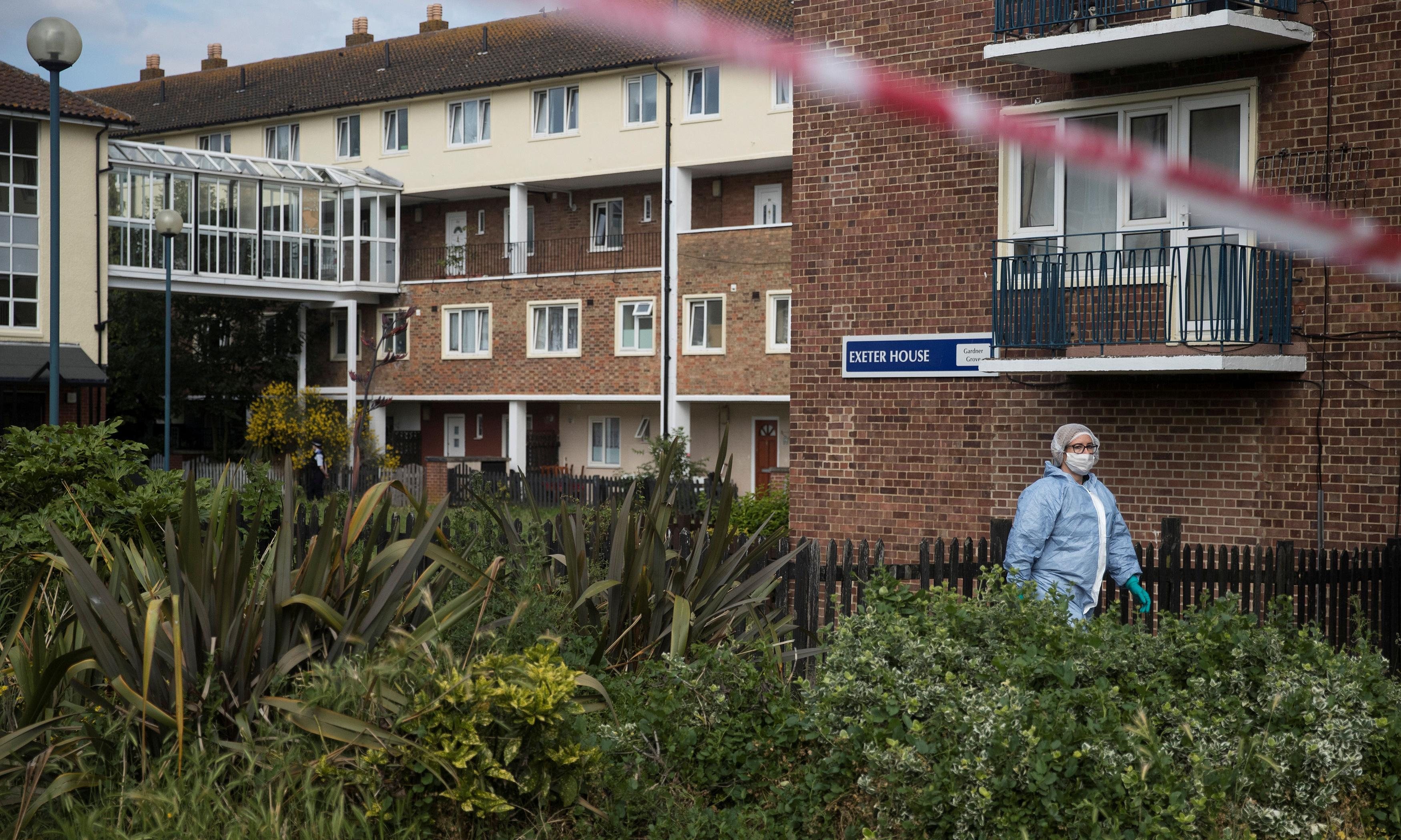 Three arrested after man shot dead in west London