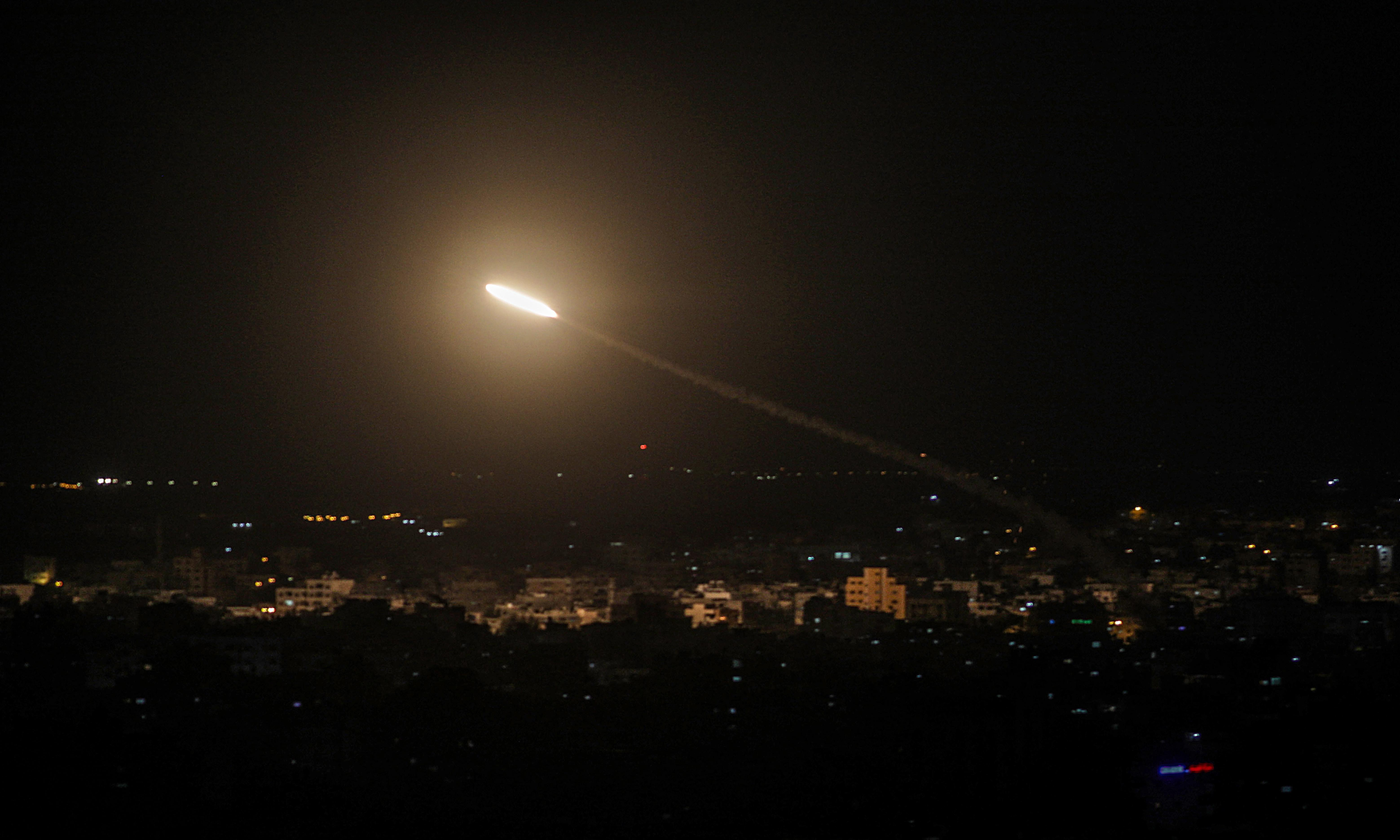 Gaza death toll rises to 24 as Israel confronts militant rocket fire