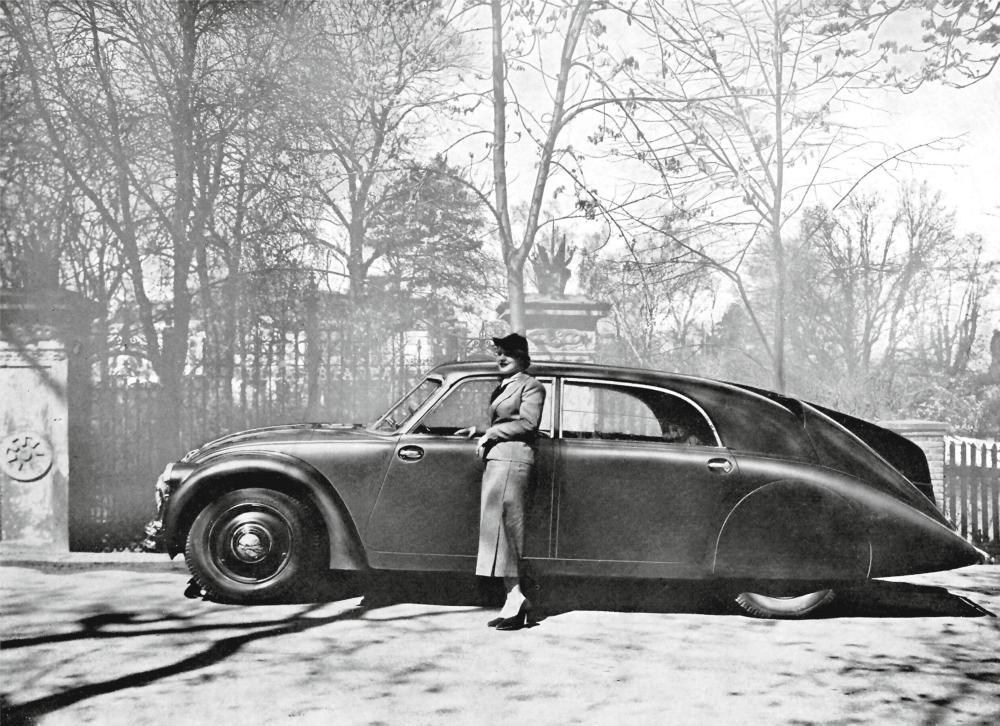 The 'drool-worthy' Czech-built Tatra T77, 1934.