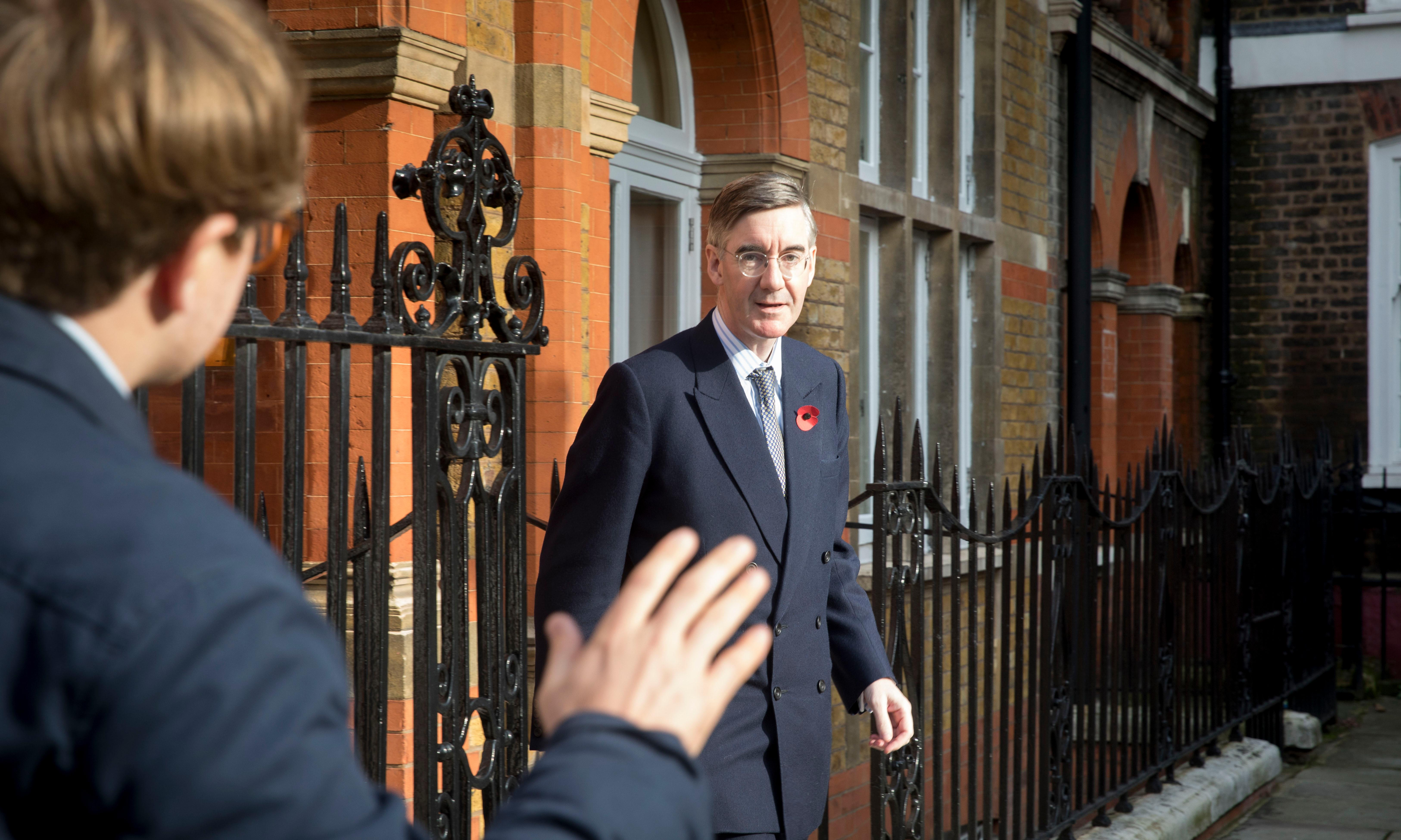 Jacob Rees-Mogg opts for low profile amid Grenfell remarks fury