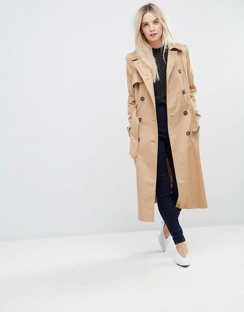 A classic trench at Asos, £65