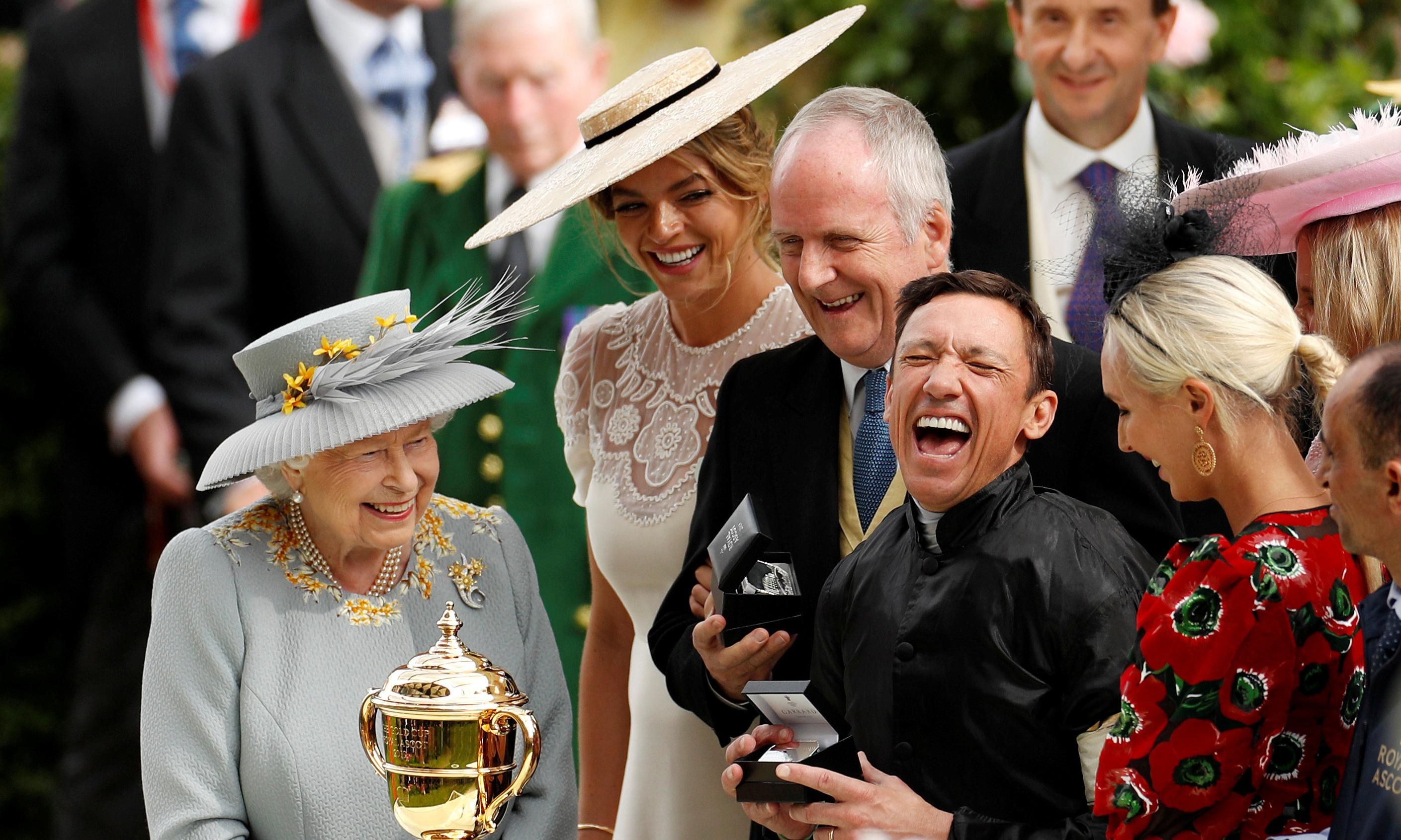 Frankie Dettori's roll of pure gold has Royal Ascot in raptures
