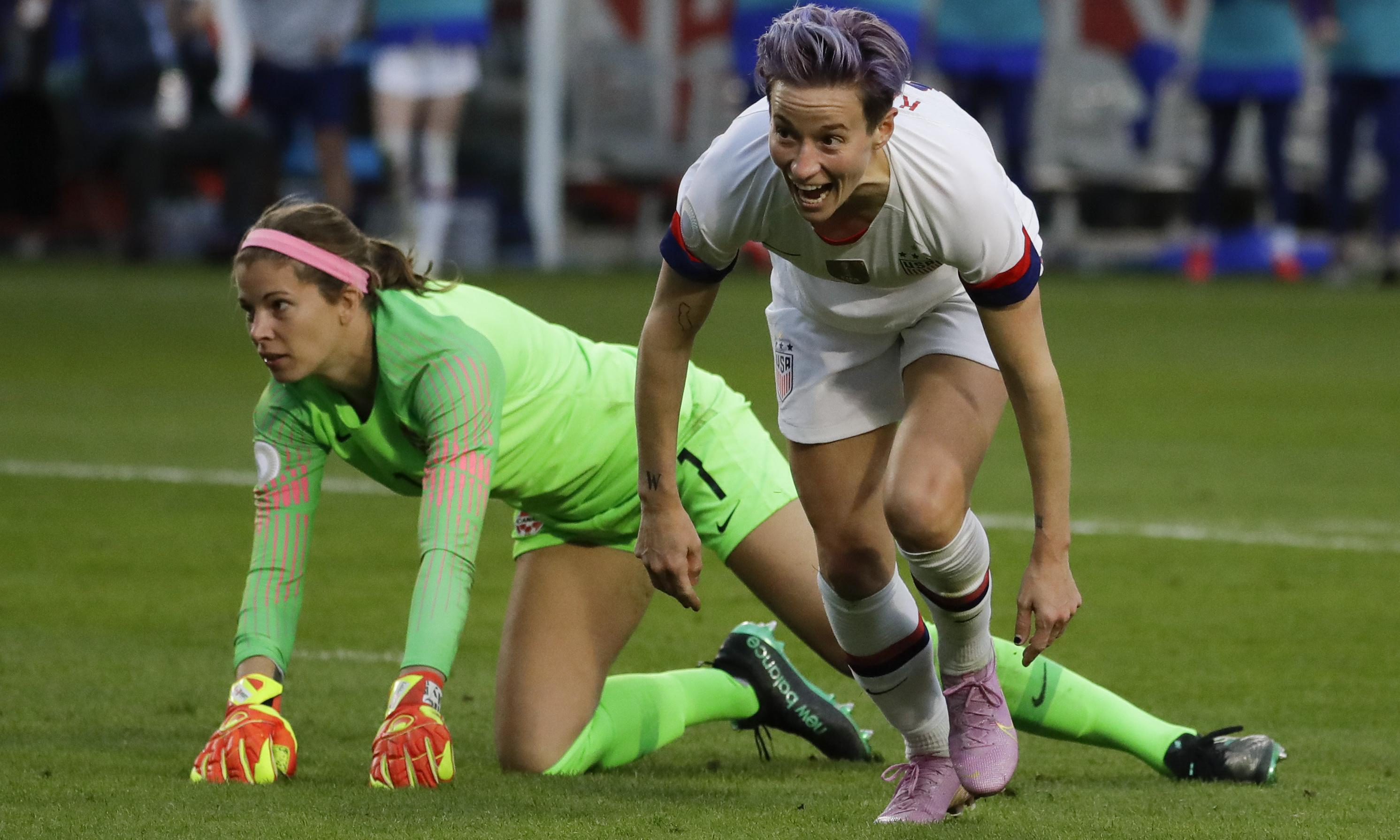 Megan Rapinoe on target as USA beat Canada in Concacaf final