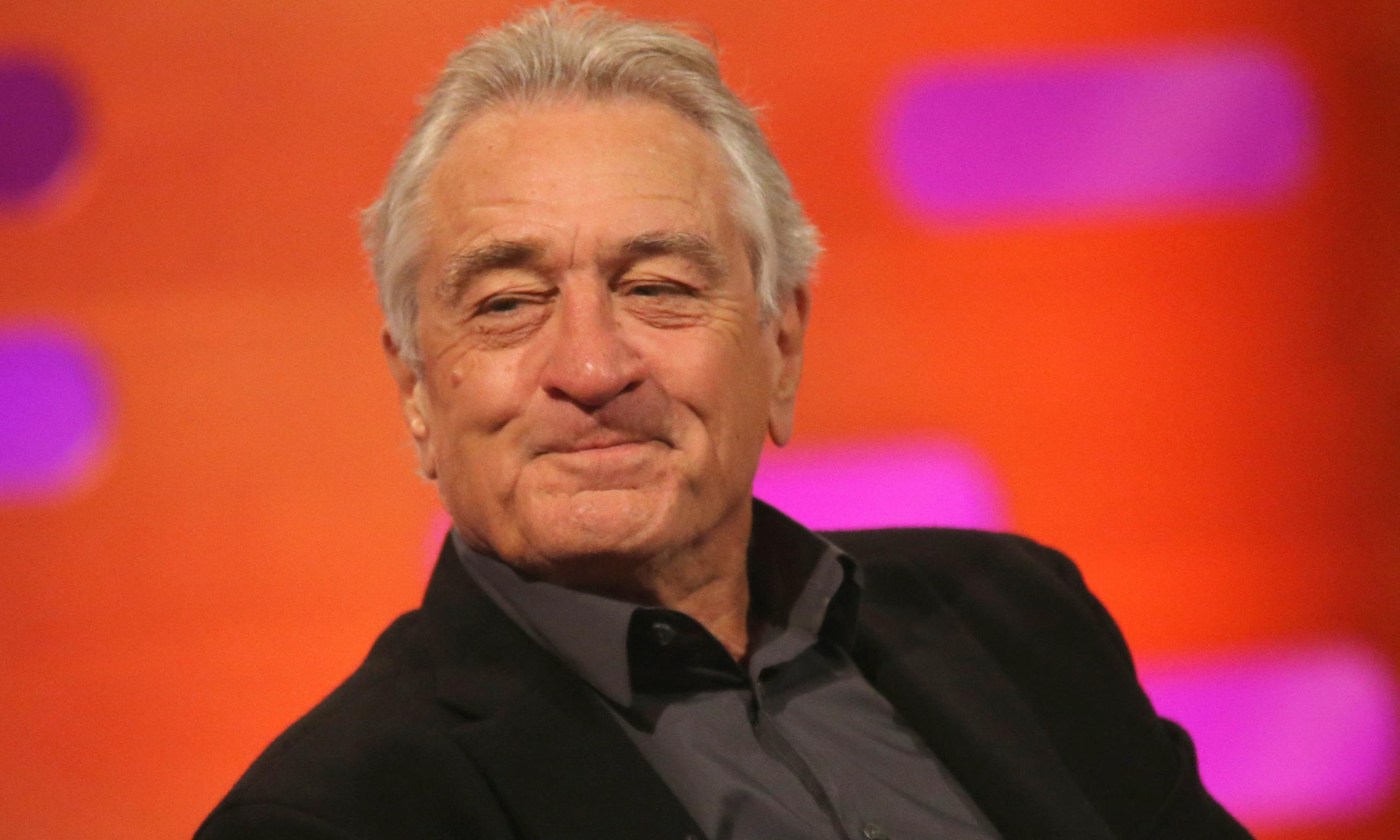 Robert De Niro on Donald Trump: 'I can't wait to see him in jail'