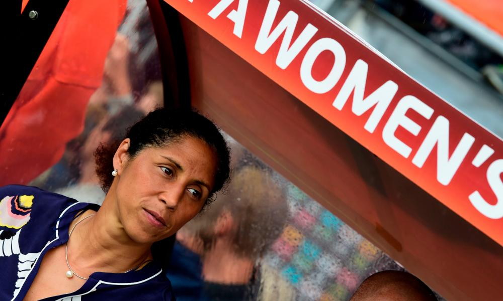 Steffi Jones has lost her job as Germany's head coach.