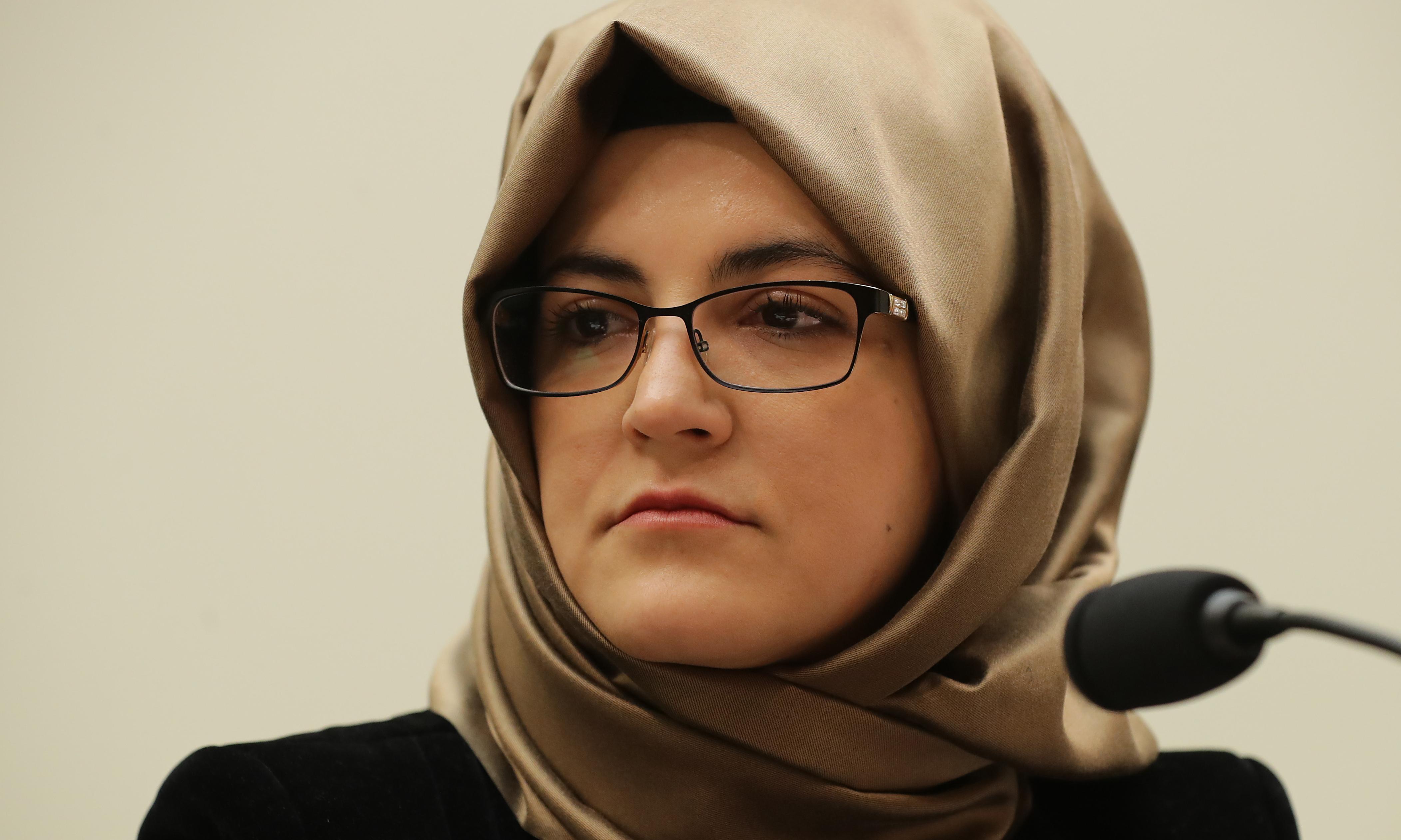 Jamal Khashoggi fiancee: 'The world still has not done anything'
