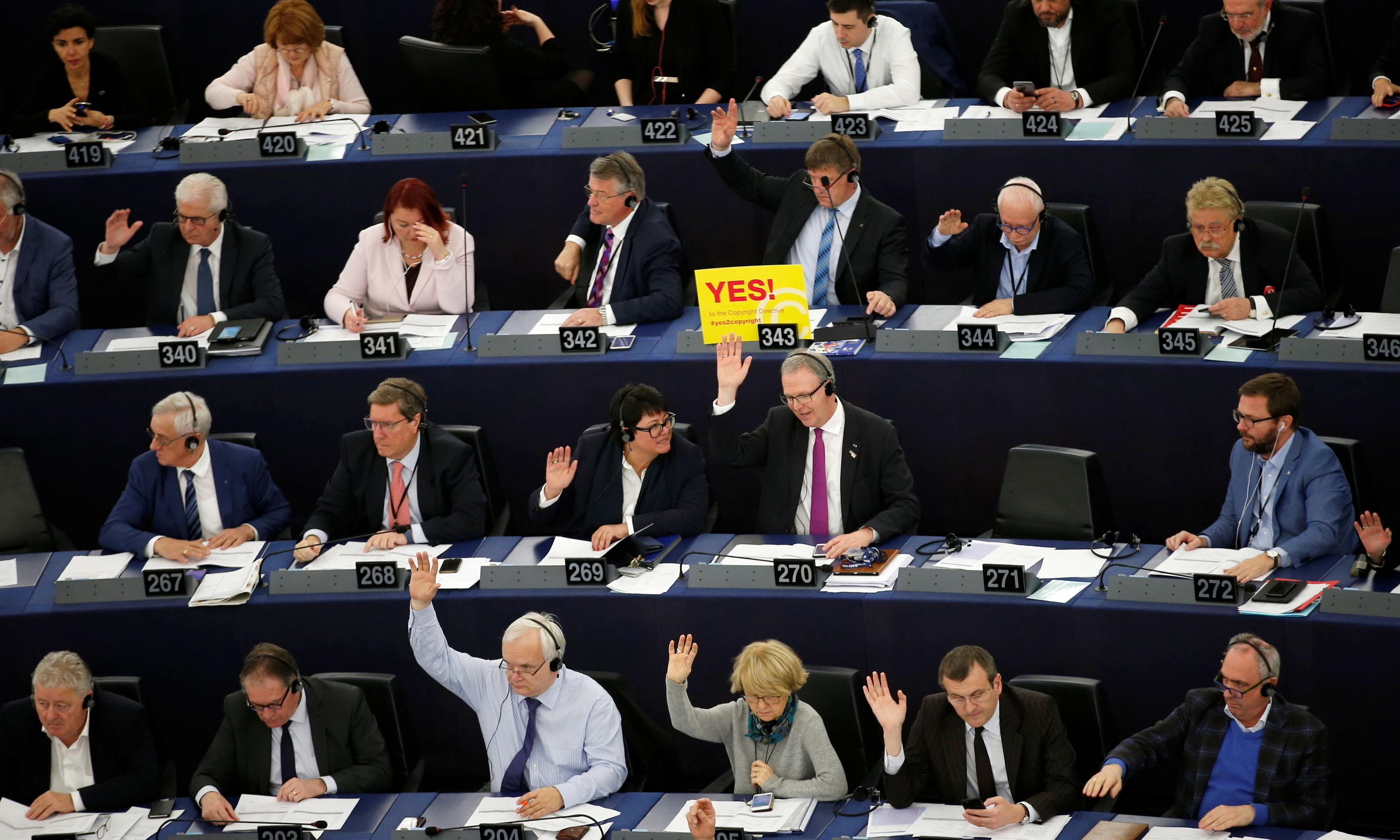 MEPs approve sweeping changes to copyright law