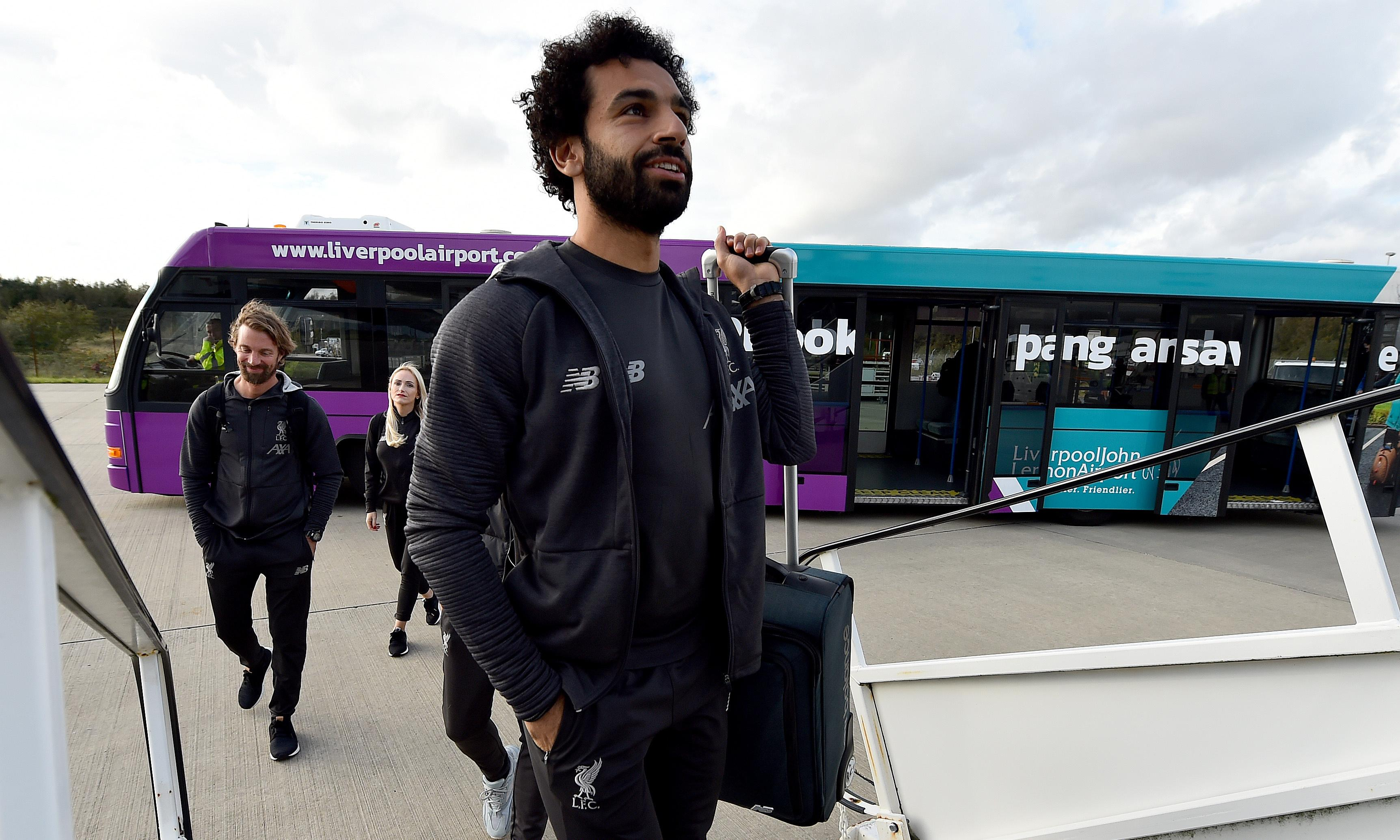 Liverpool's Salah passed fit but Matip and Alexander-Arnold to miss Genk trip