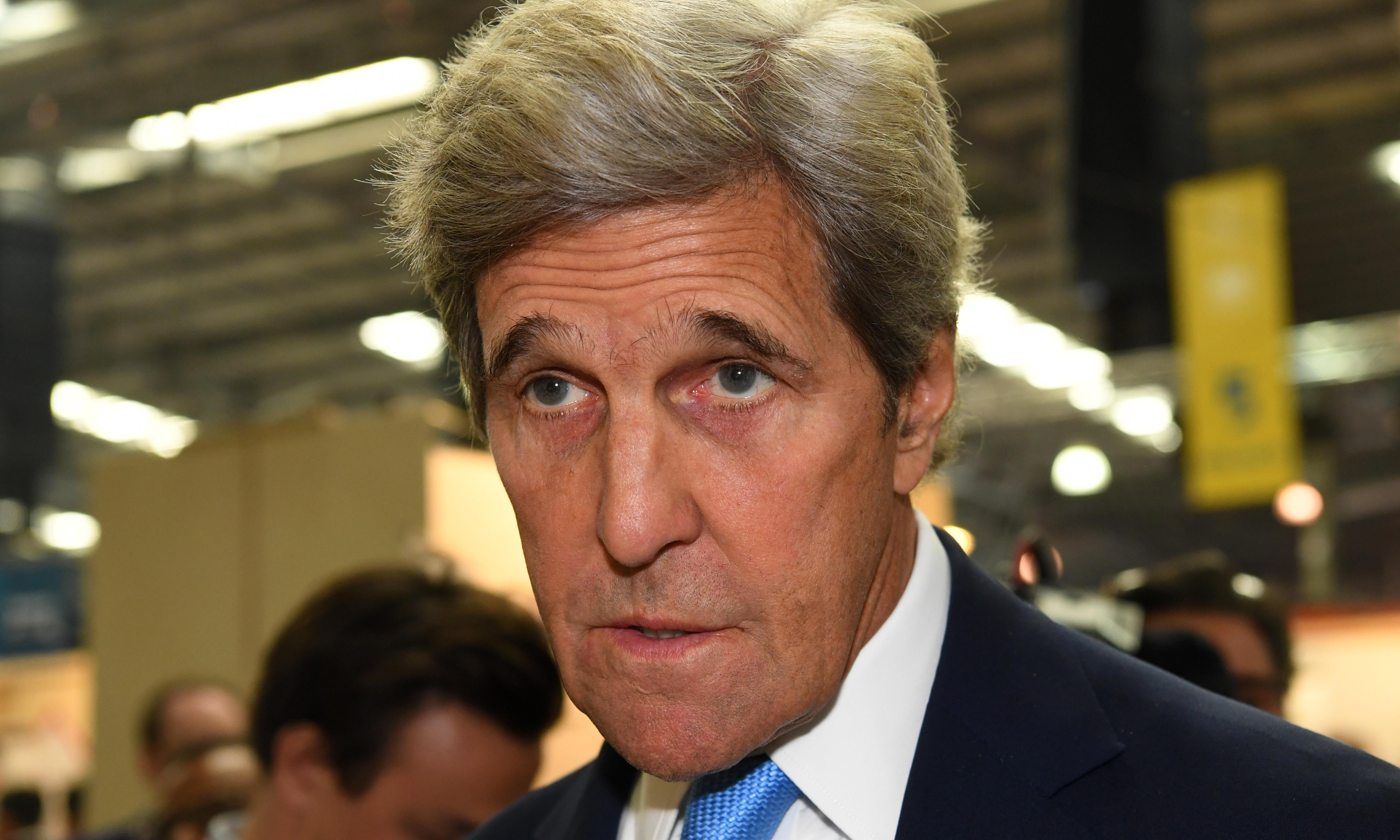 John Kerry says we can't leave climate emergency to 'neanderthals' in power