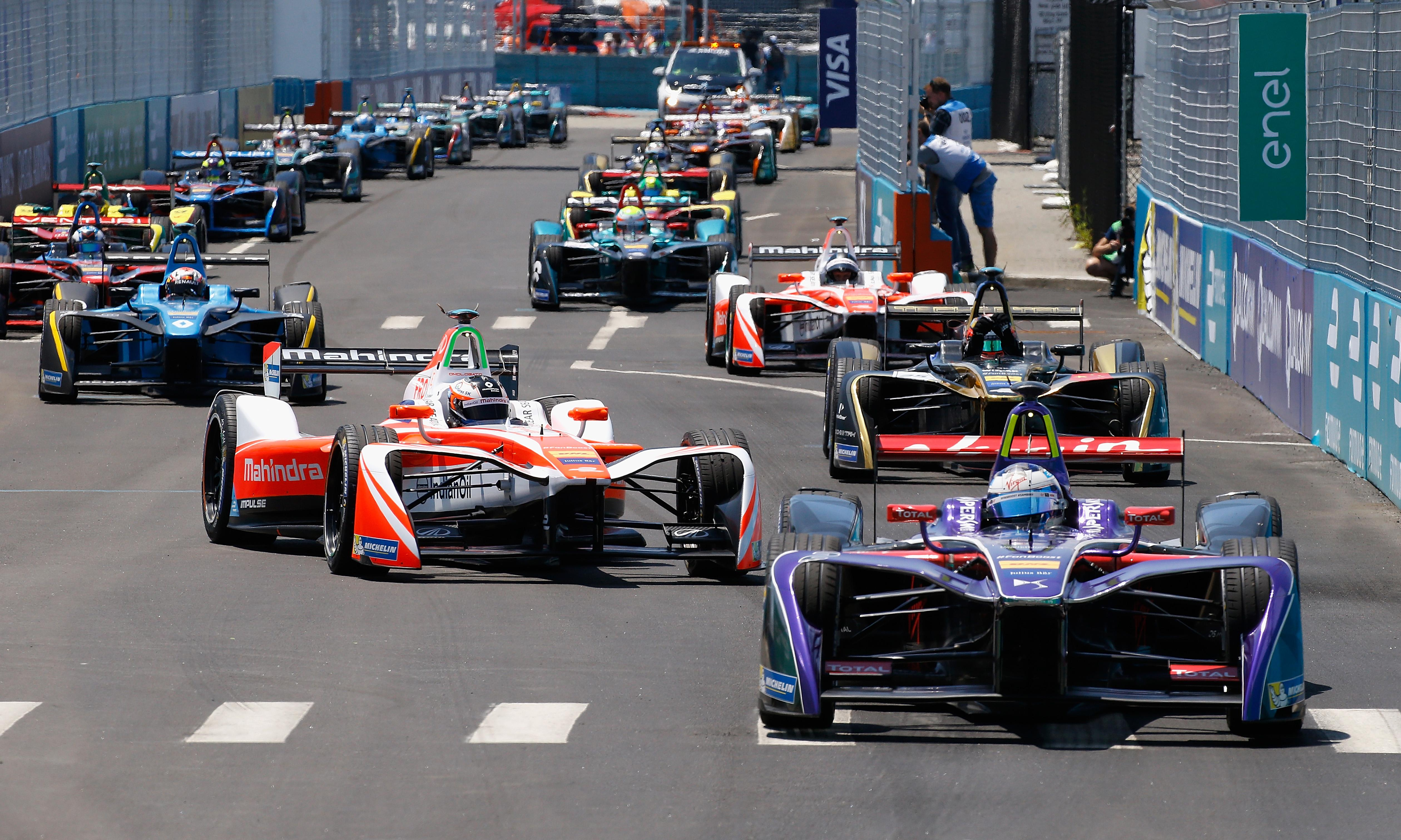 As German giants join Formula E, is the future electric for motor racing?