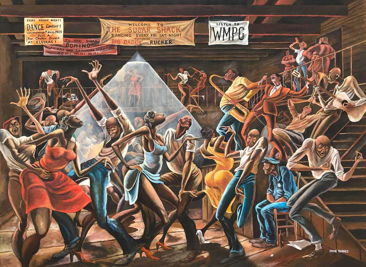 Ernie Barnes: the overlooked legacy of the athlete turned celebrity artist