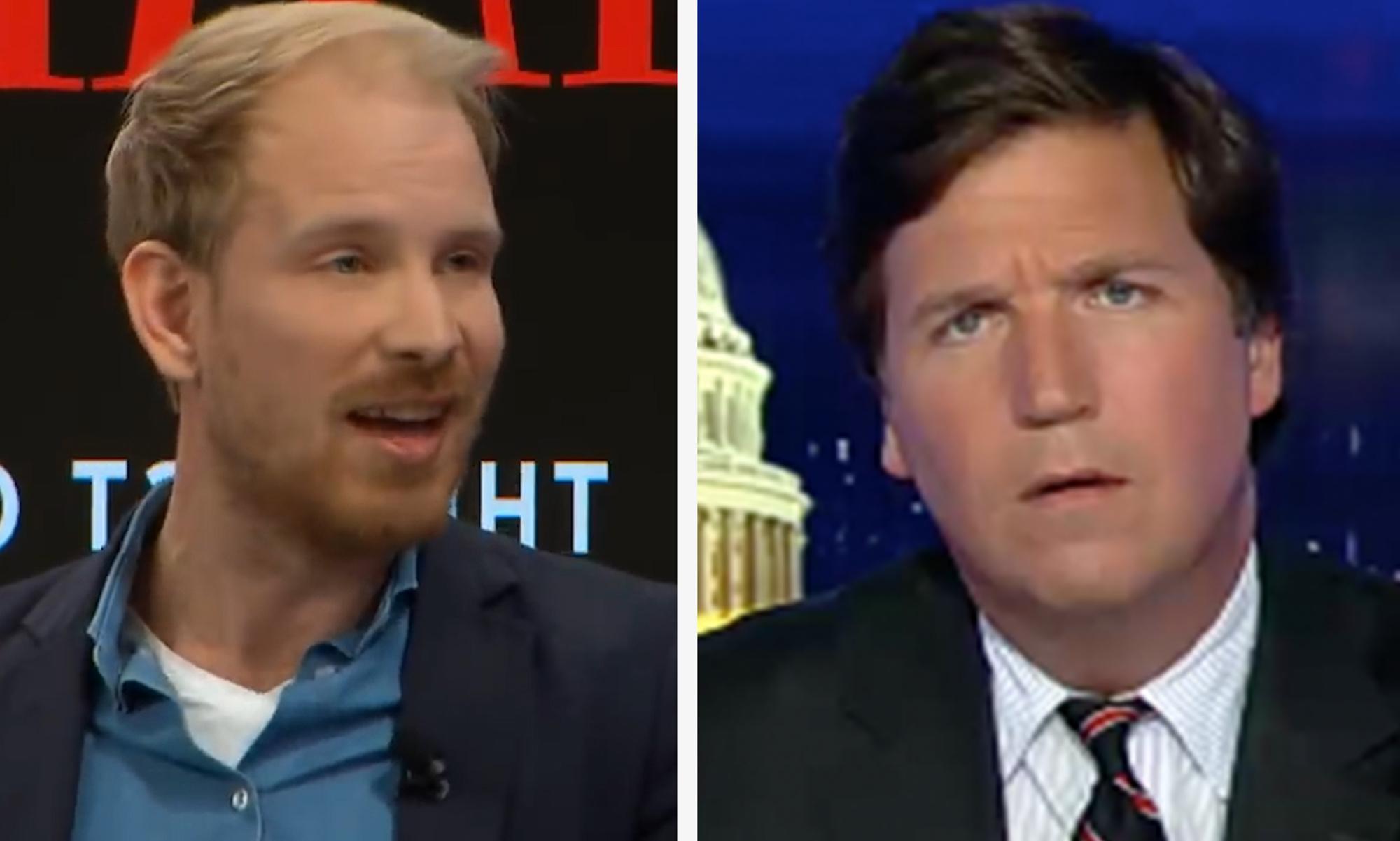 Historian who confronted Davos billionaires leaks Tucker Carlson rant