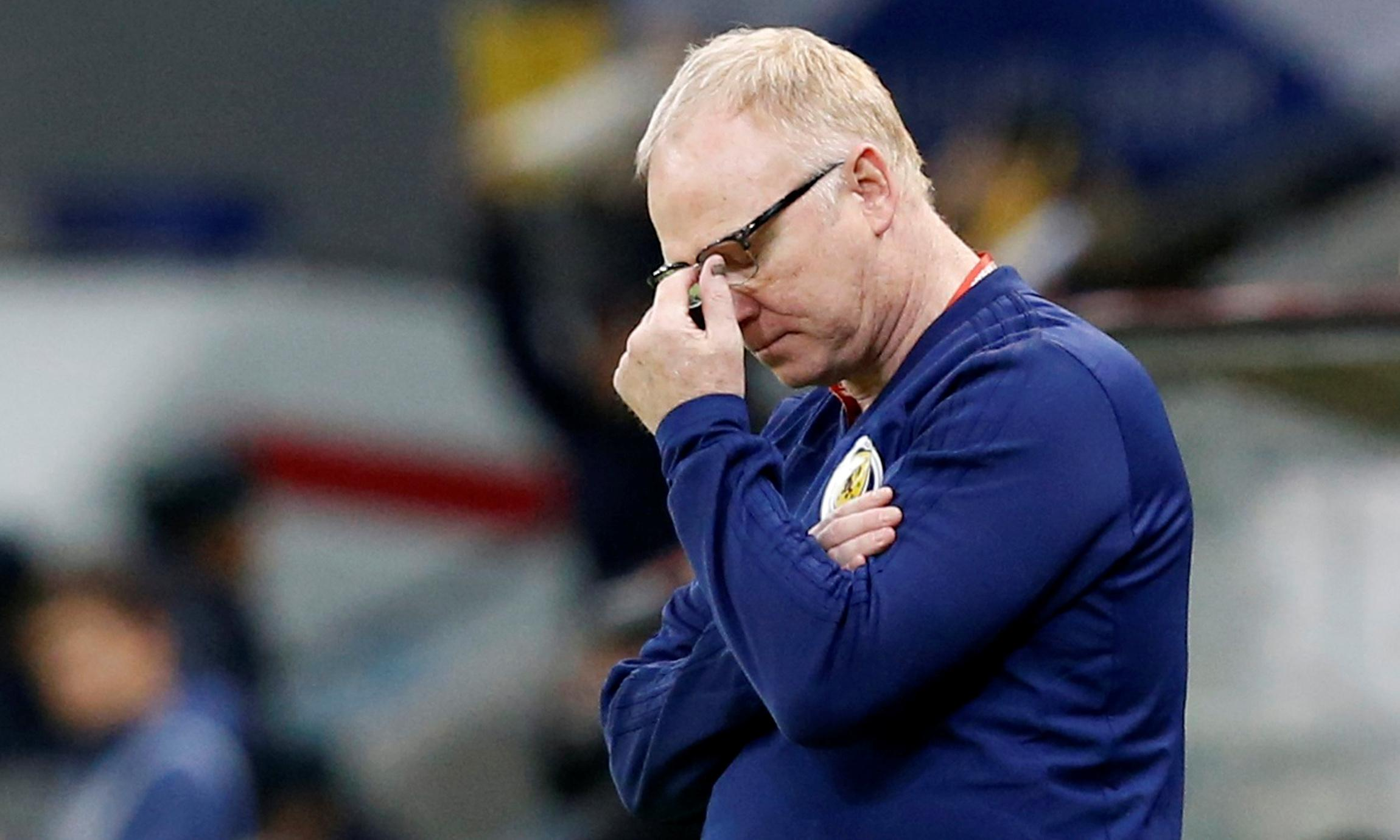 Winning is only way for Scotland to apologise for Kazakhstan, says McLeish