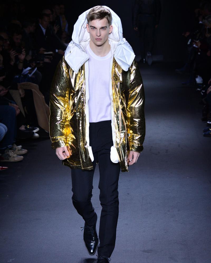 Calvin Klein, as designed by Italo Zucchelli, for AW16