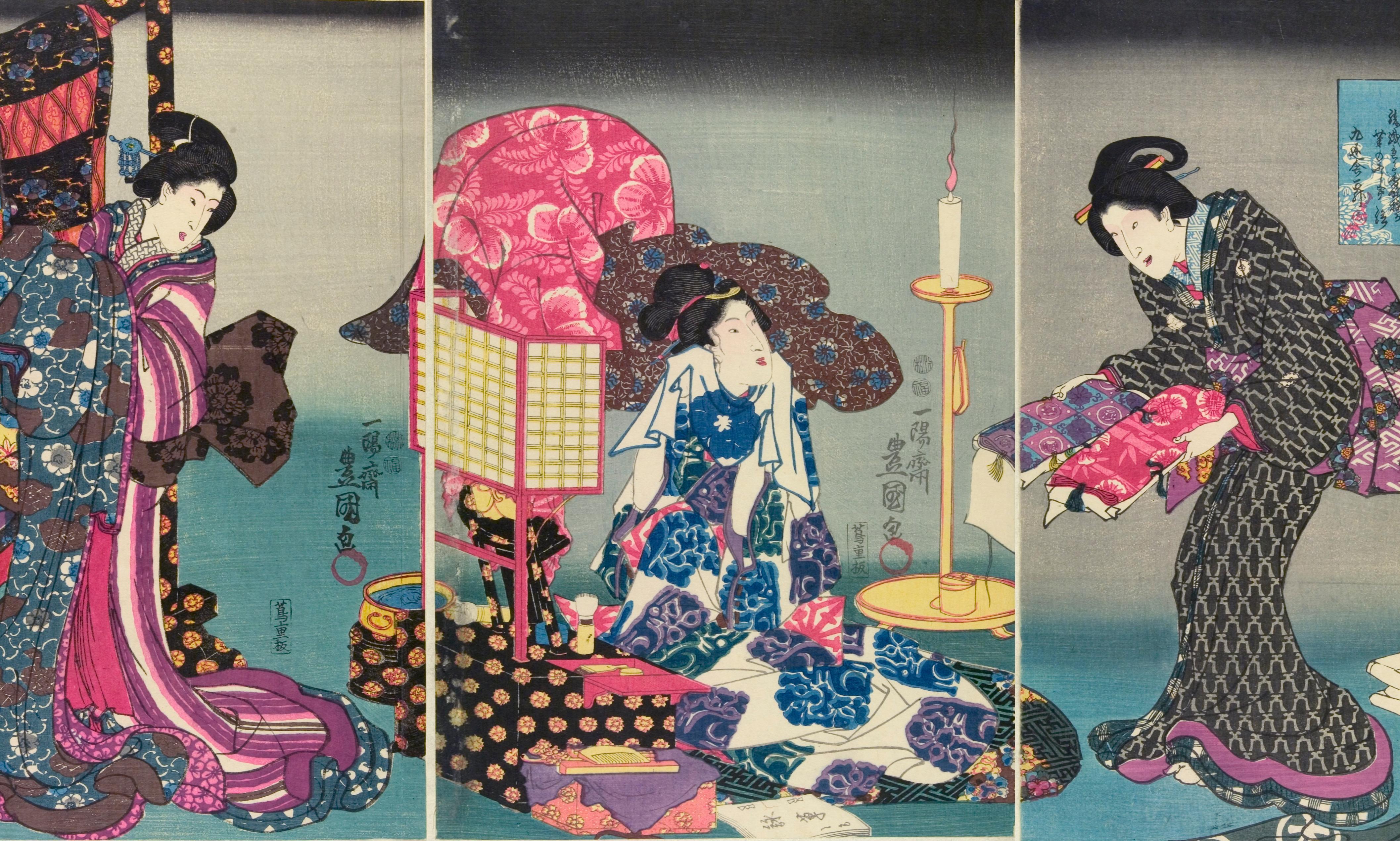 Fluid and fashionable: V&A shakes up image of 'traditional' kimono