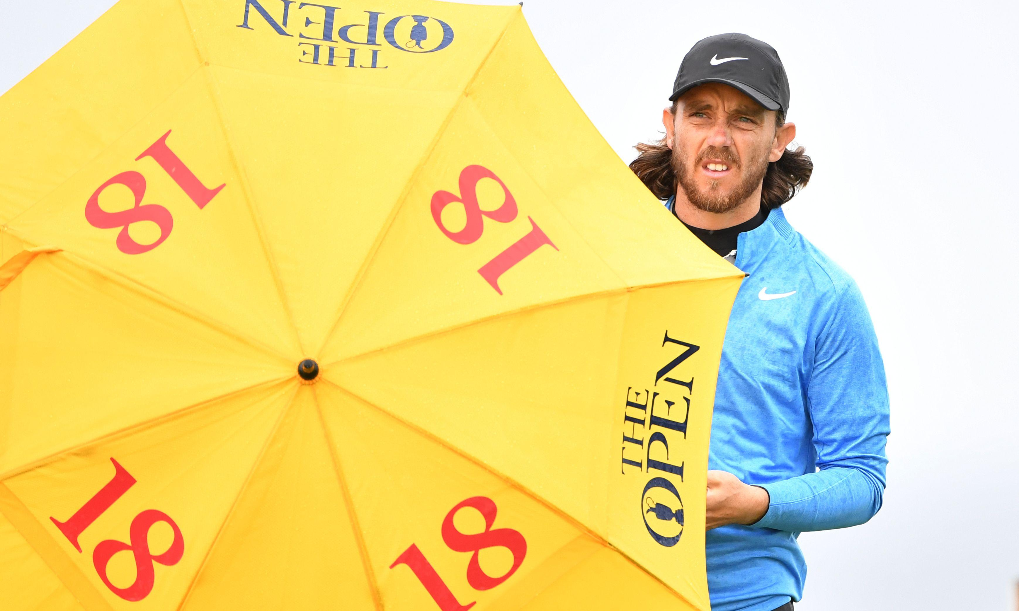 Tommy Fleetwood rides the storm but fails to capsize Shane Lowry at Open